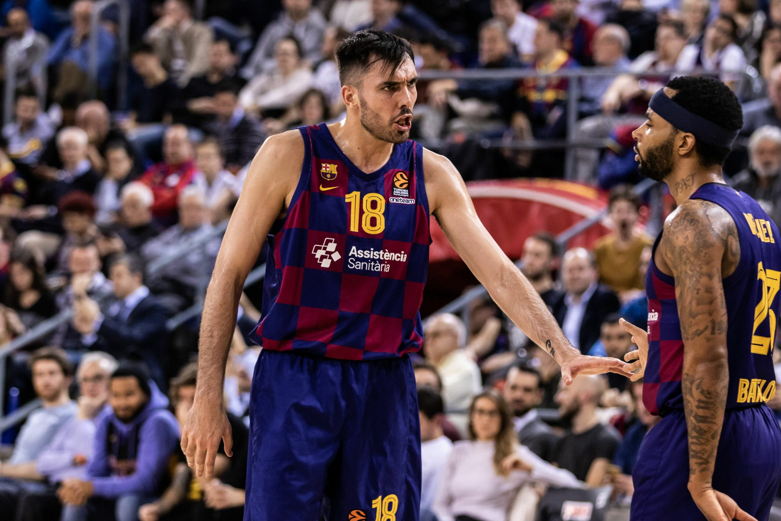 Pierre Oriola, jugador del Barça de bàsquet |Europa Press