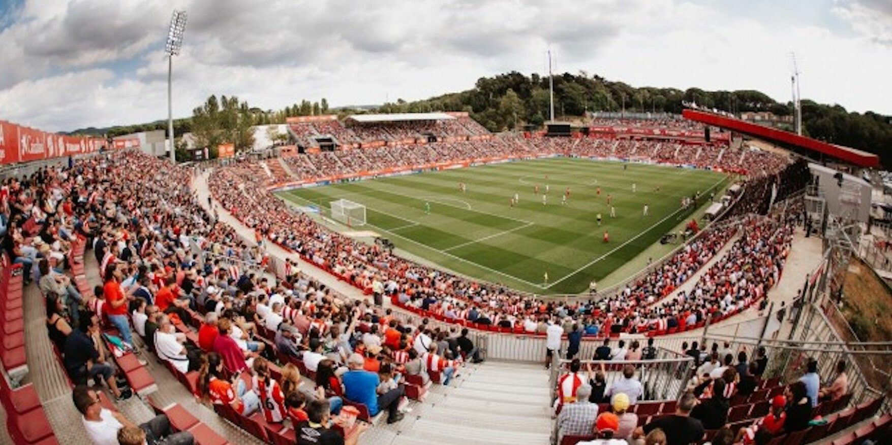 Montilivi, durant un partit |Girona FC