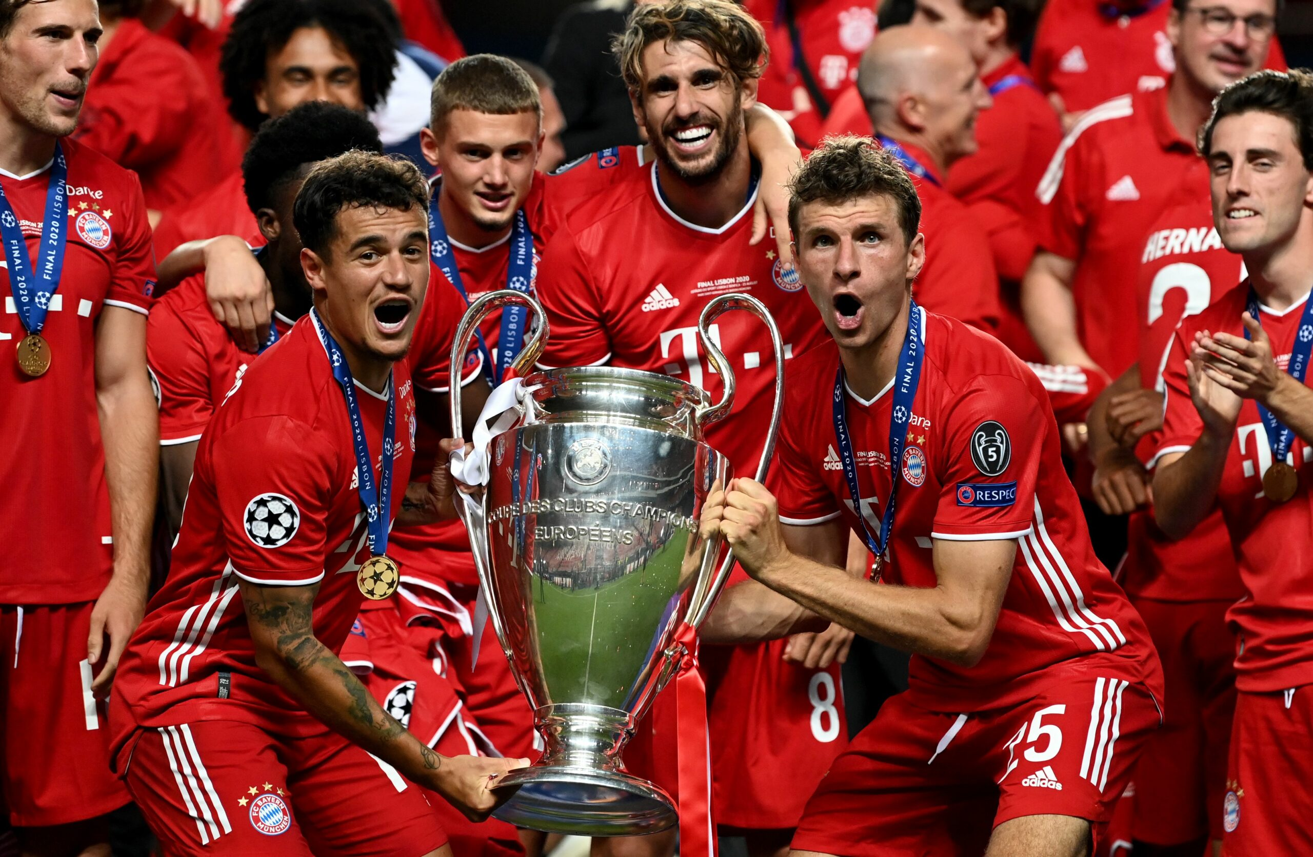 Coutinho aixeca la Champions   Europa Press