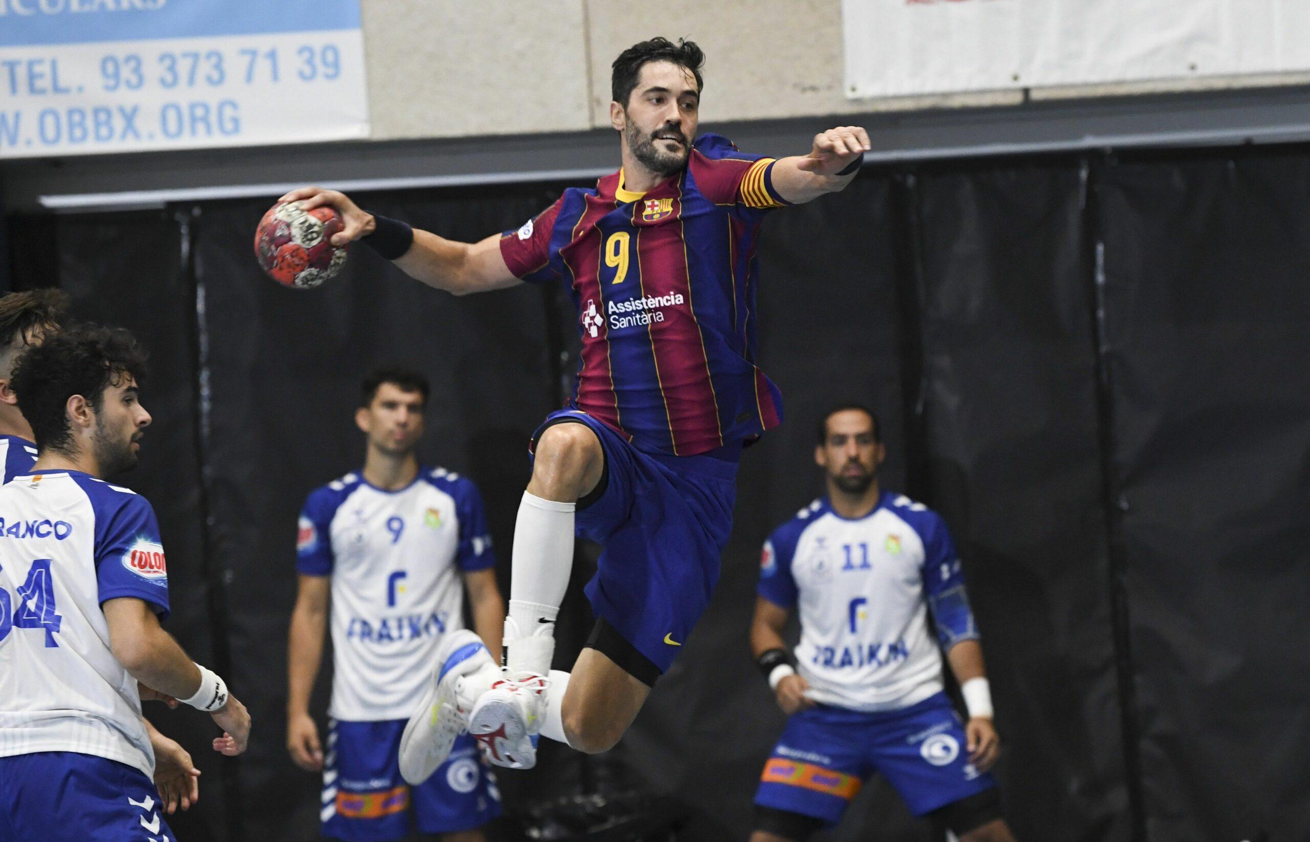 Raúl Entrerríos, a la final de la Supercopa Catalana d'Hanbdbol   FCBhandbol