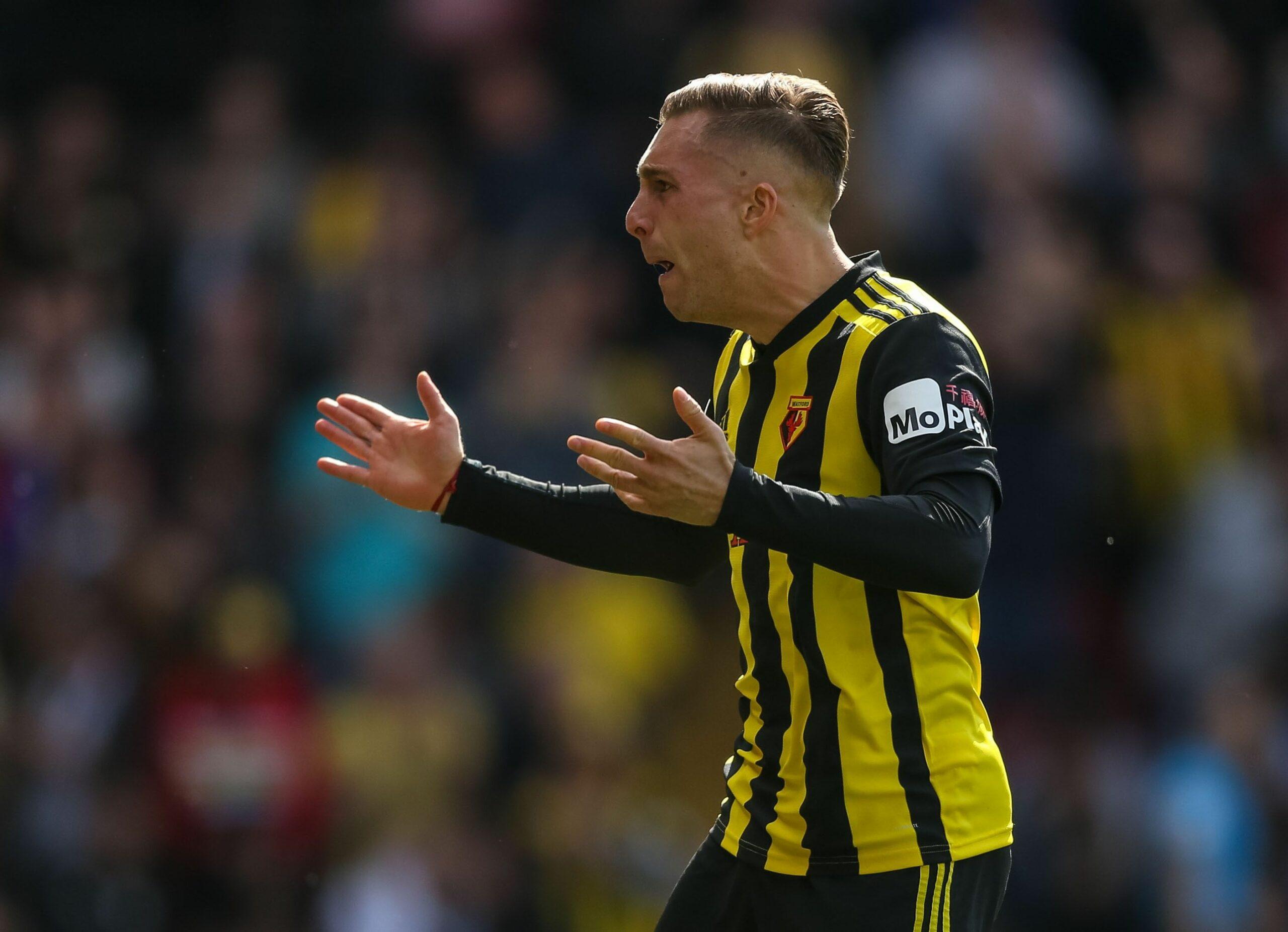Gerard Deulofeu celebra un gol del Watford | Europa Press