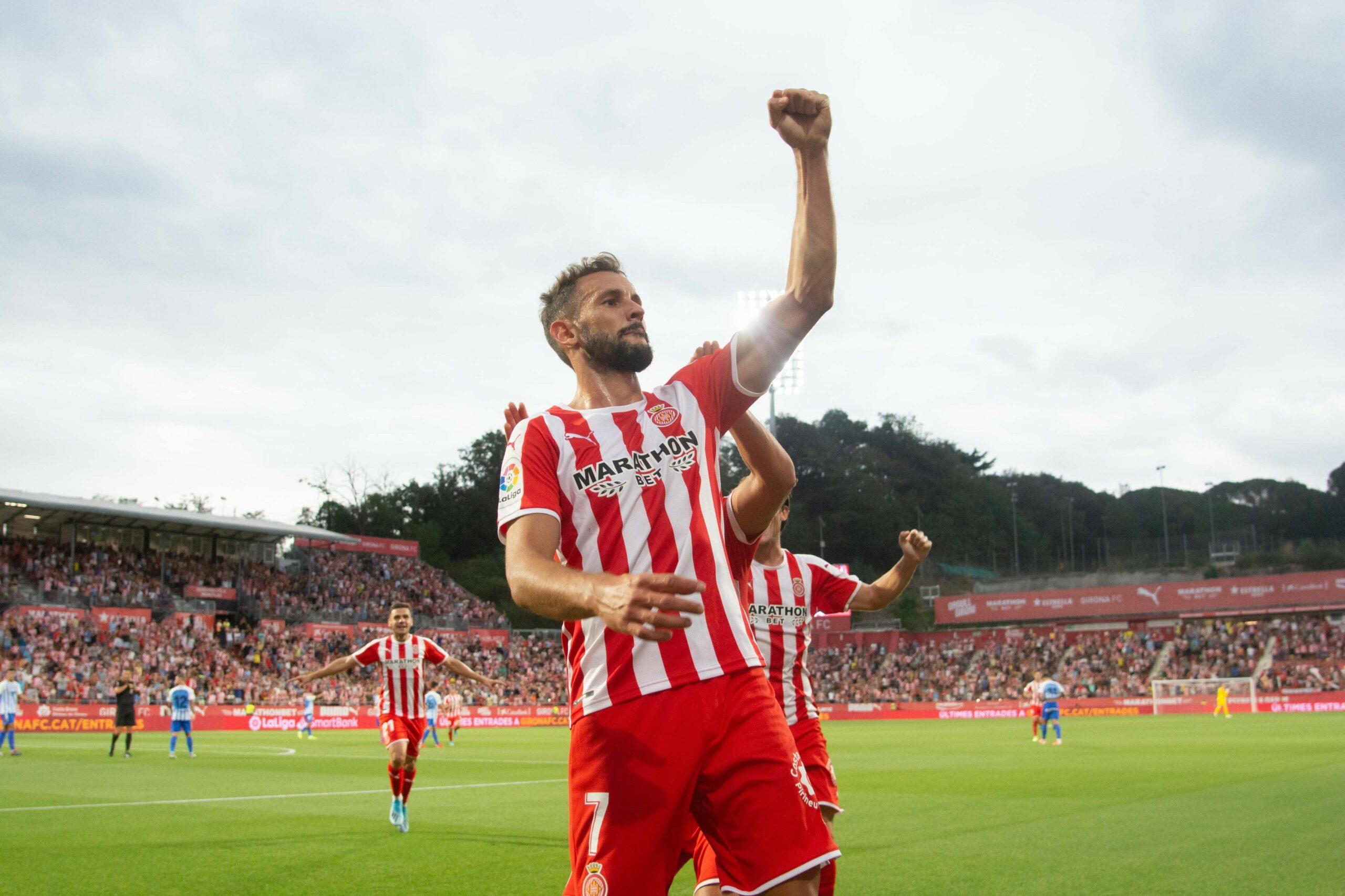 Stuani celebra el seu gol | Girona FC