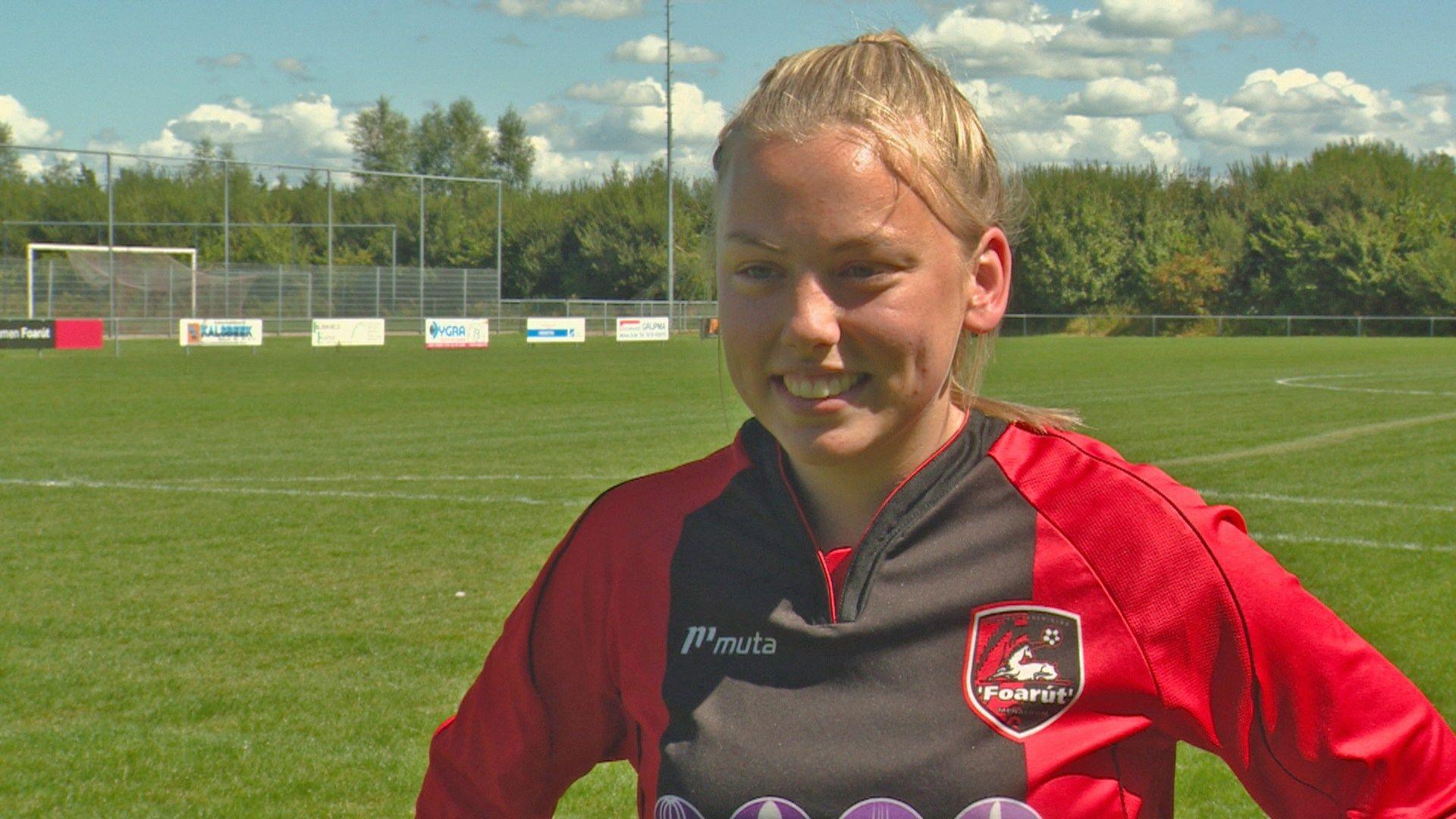 Ellen Fokkema, futbolista neerlandesa | VV Foarut