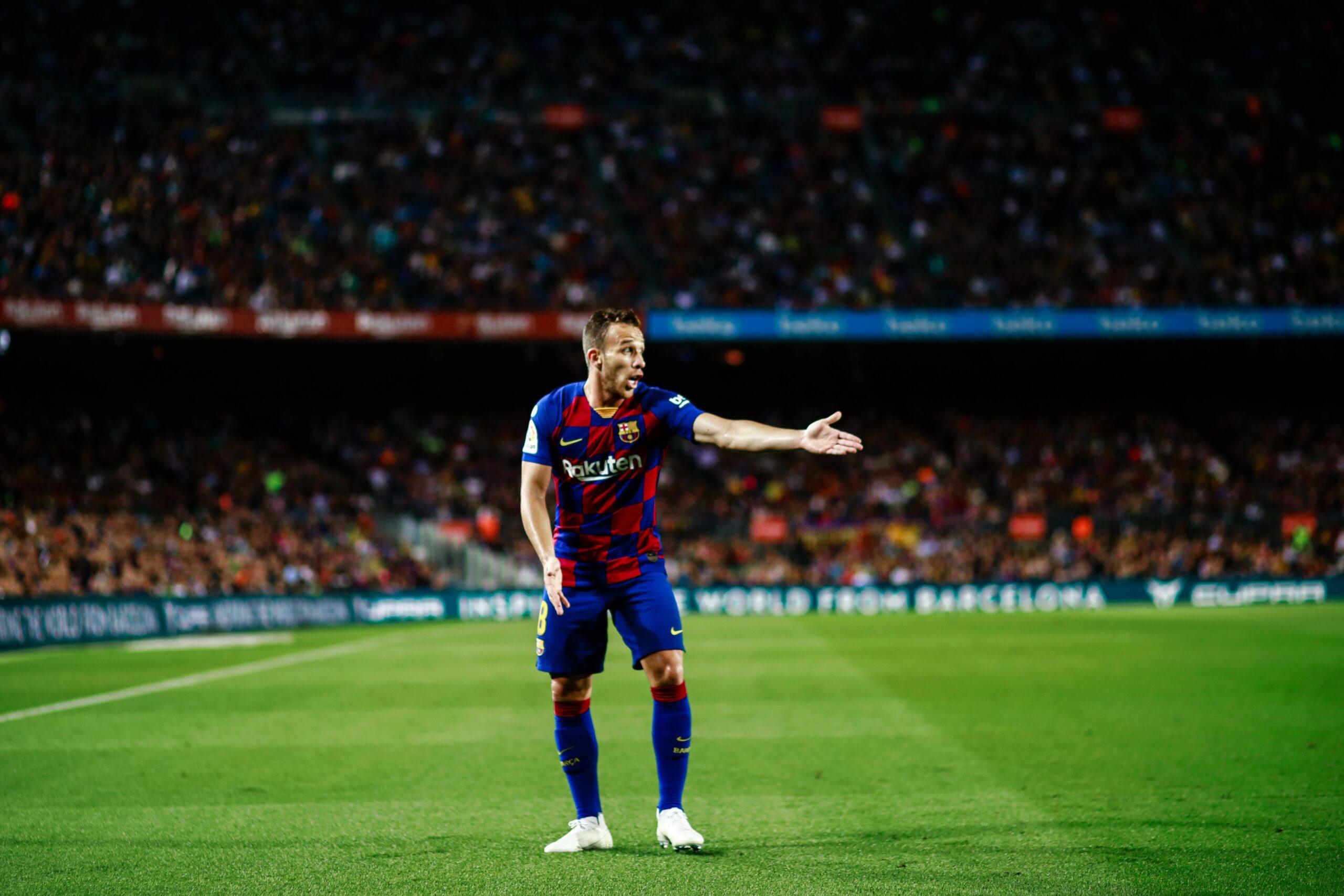 Arthur Melo, jugador del Barça | Europa Press