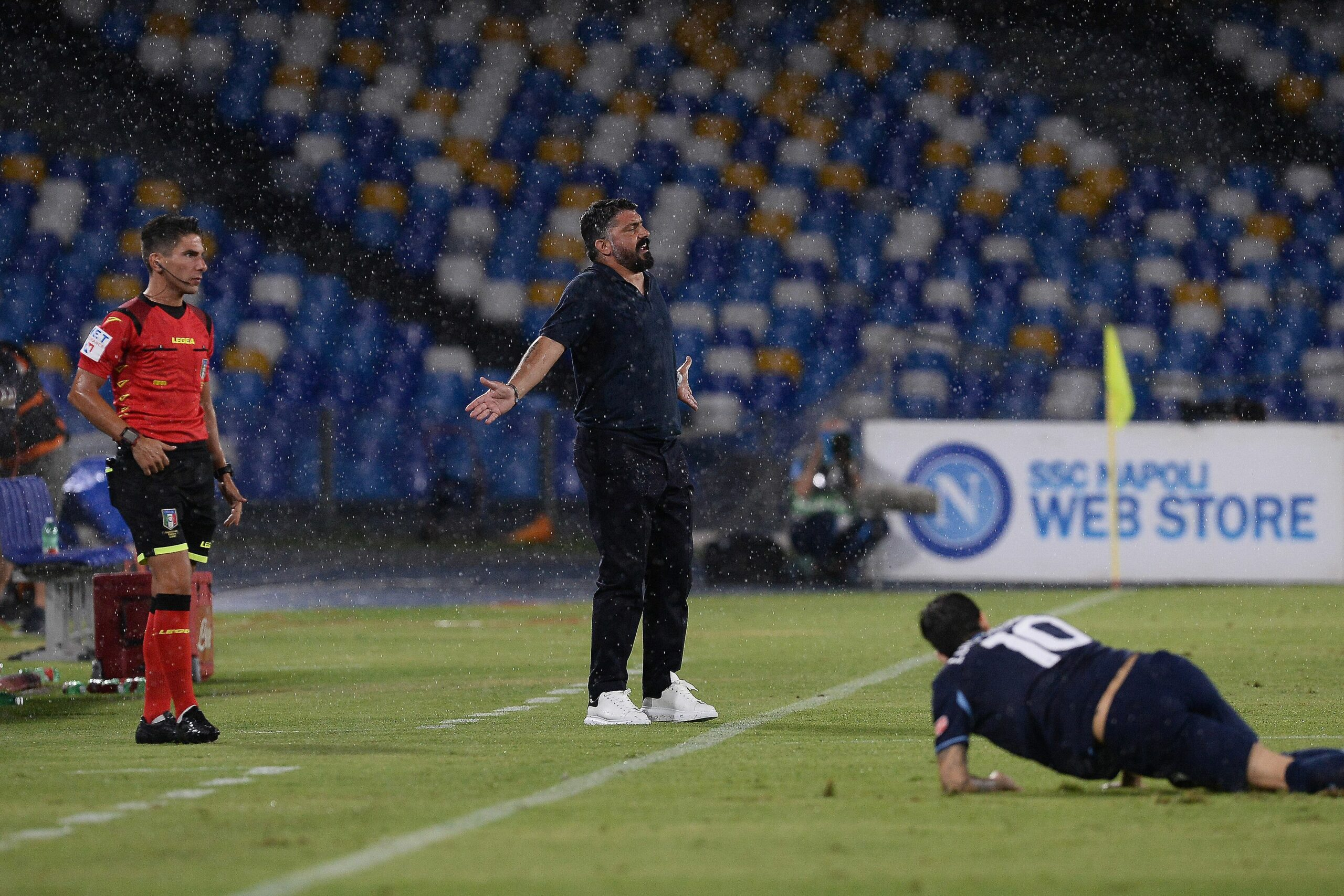 Gattuso, entrenador del Nàpols | Europa Press