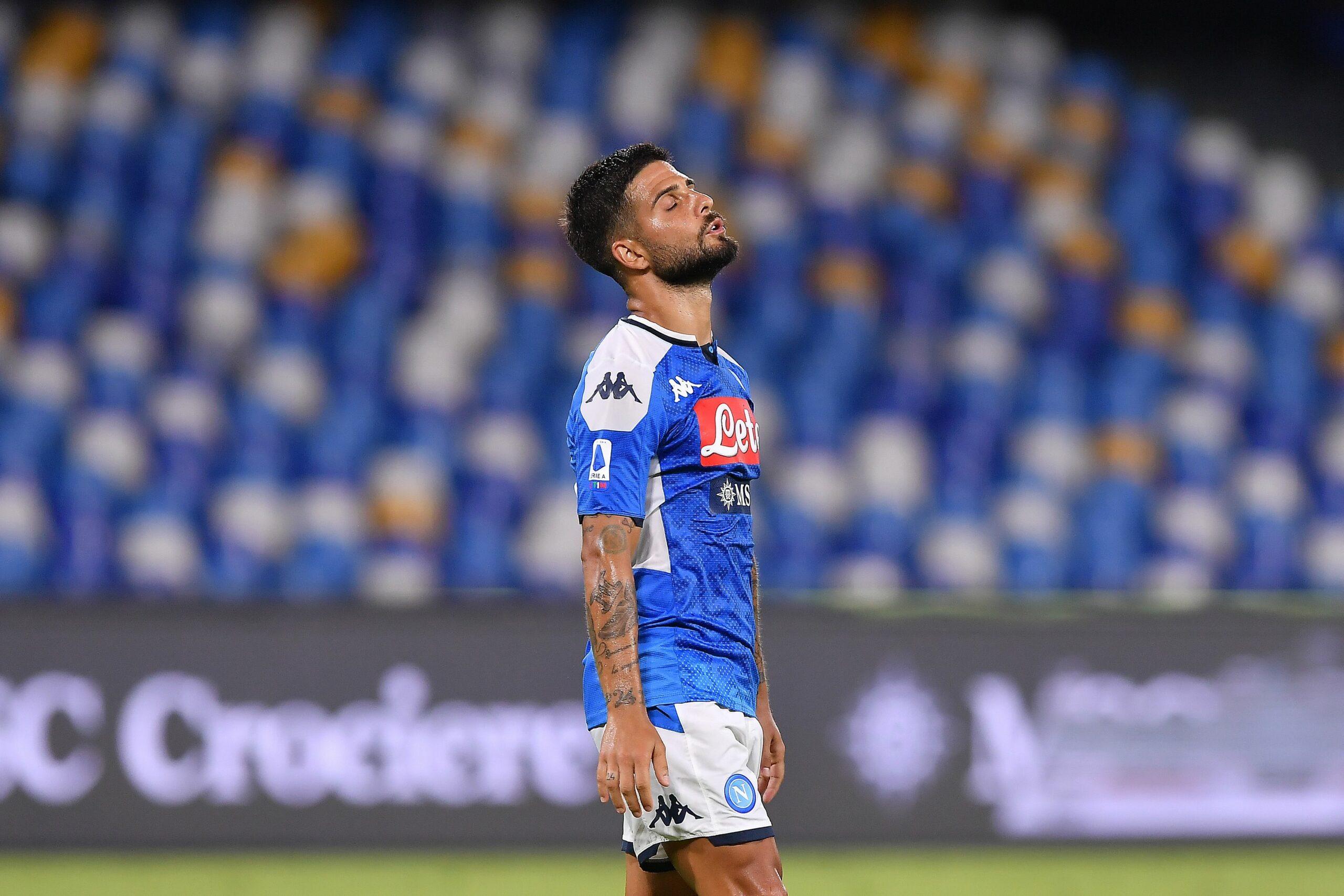 Insigne, durant un partit de la Serie A | Europa Press