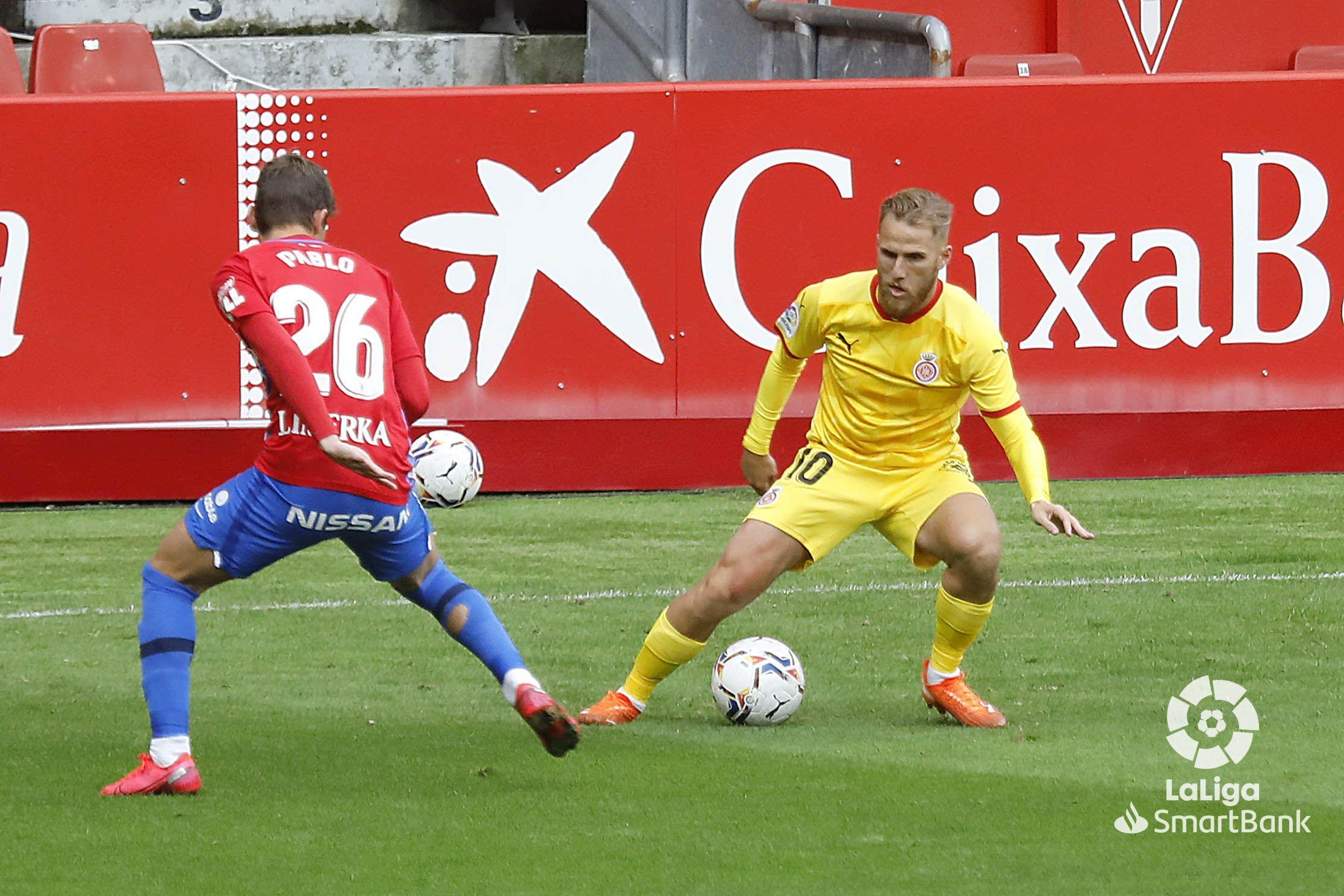 El Girona cau davant l'Sporting de David Gallego. | LaLiga.