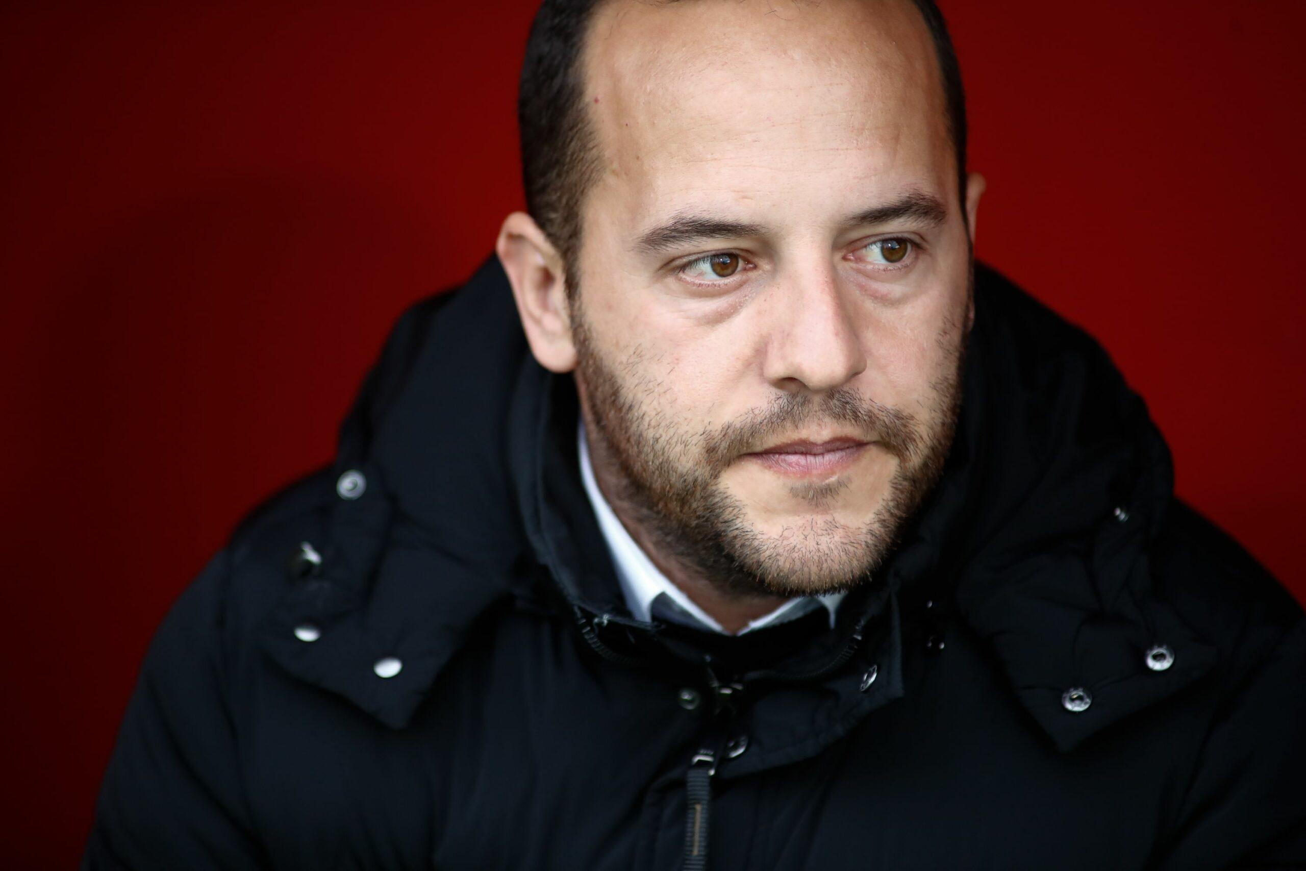 Lluís Cortés, entrenador del Barça femení   Europa Press