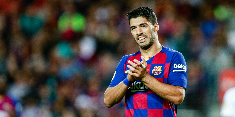 Luis Suárez, durant el Barça-Sevilla | Europa Press