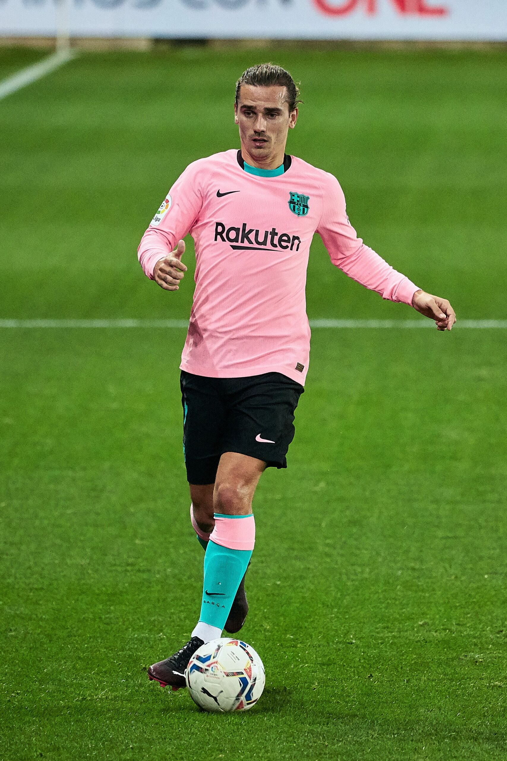 Griezmann, durant el partit contra l'Alabès | Europa Press