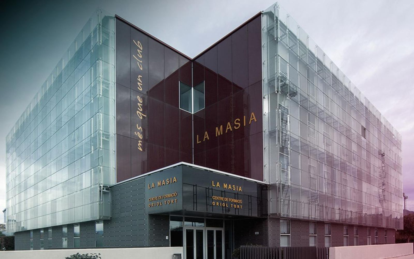 La Masia, en una imatge d'arxiu | FC Barcelona