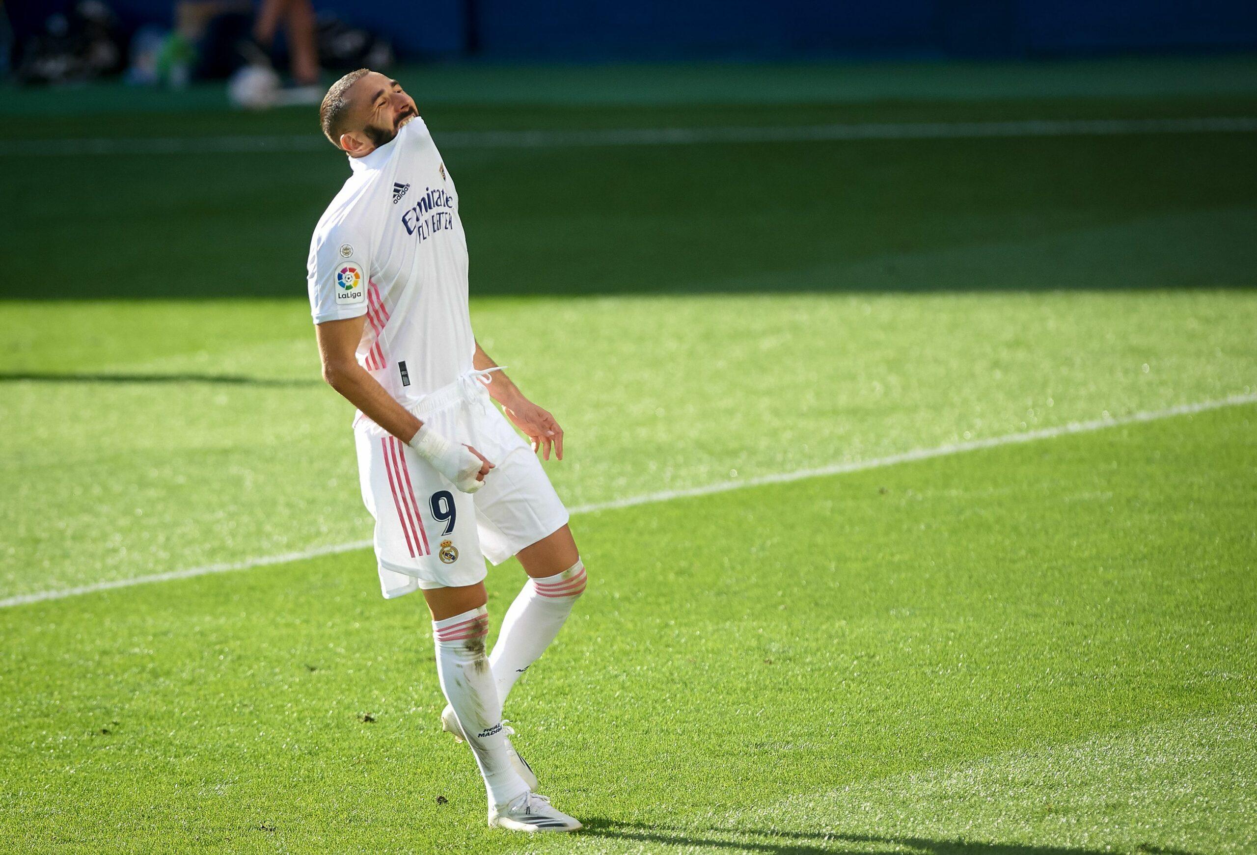 Benzema, durant un partit del Madrid  Europa Press