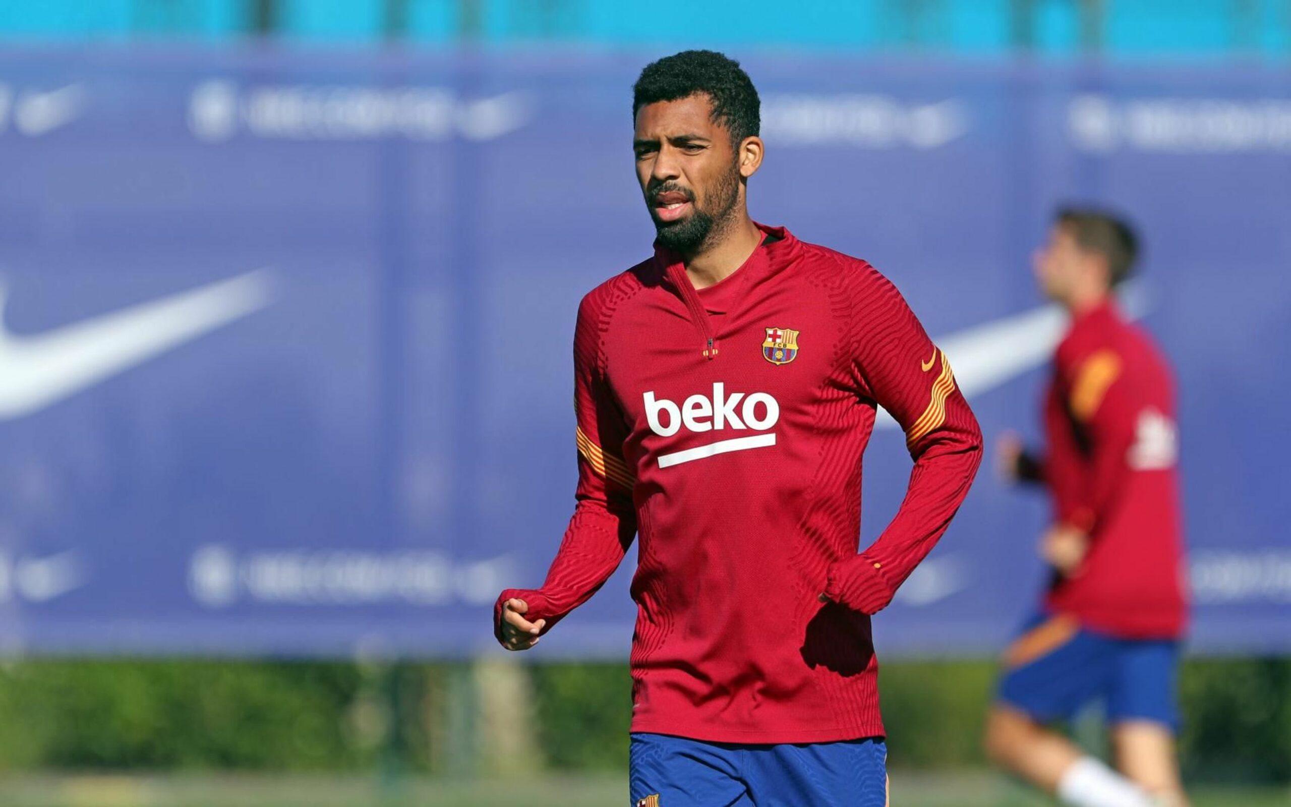 Matheus Fernandes, durant un entrenament | FC Barcelona