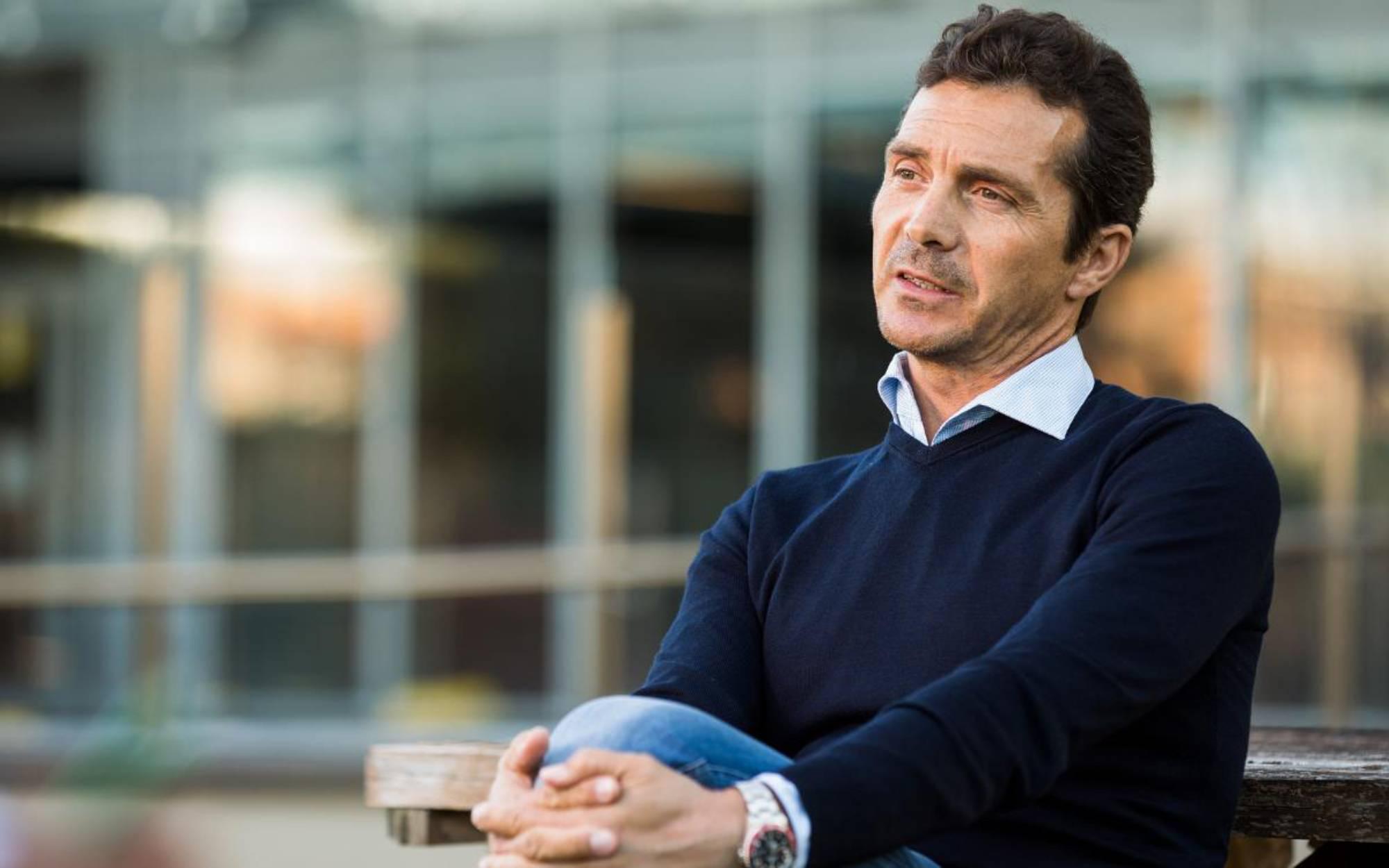 Guillermo Amor, durant una entrevista | FC Barcelona