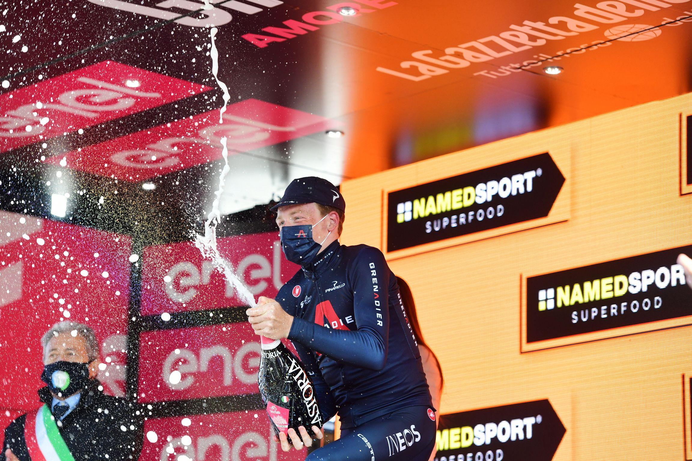 Tao Geoghegan Hart, al Giro | Europa Press