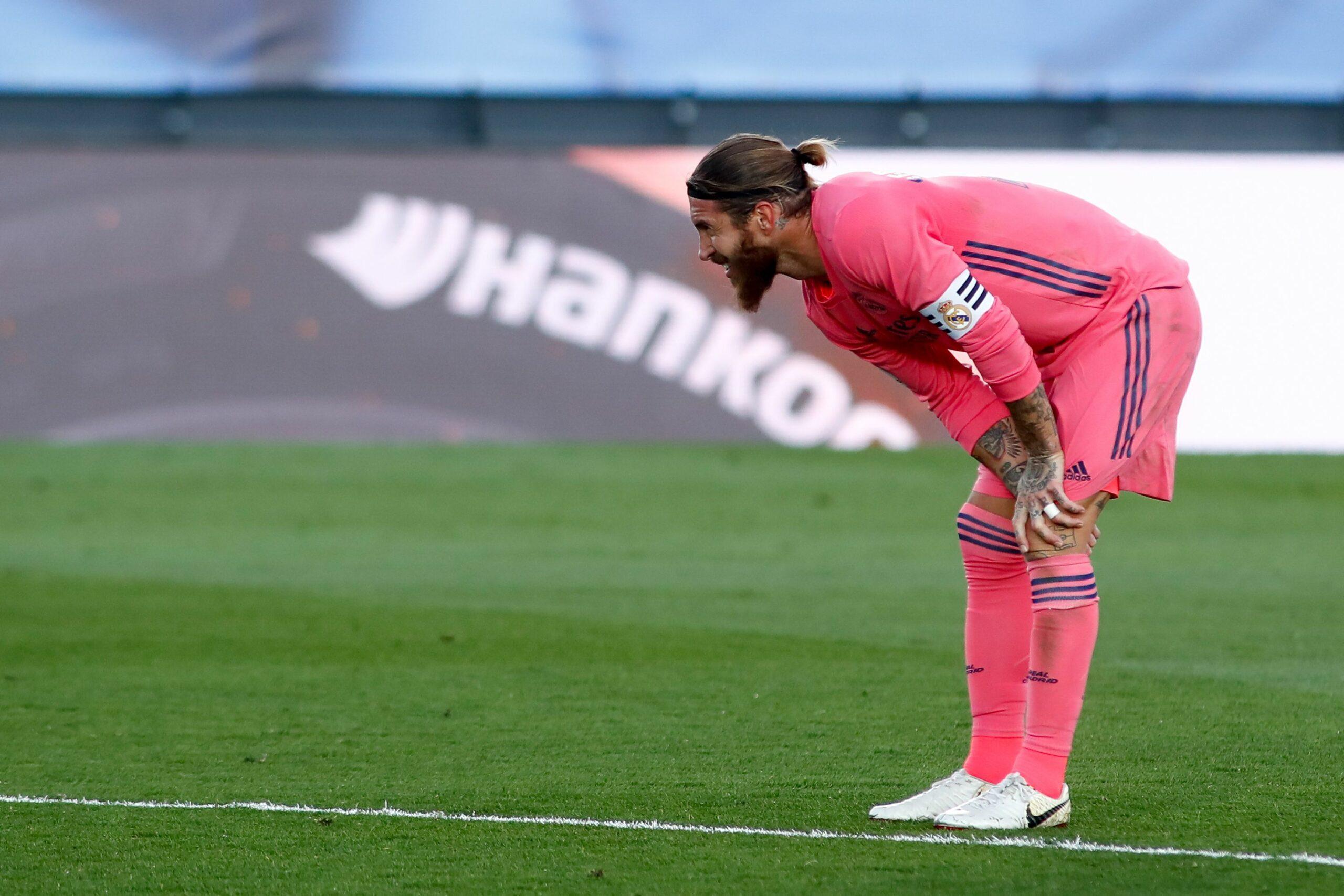 Sergio Ramos, durant el partit del Madrid contra el Cadis |Europa Press