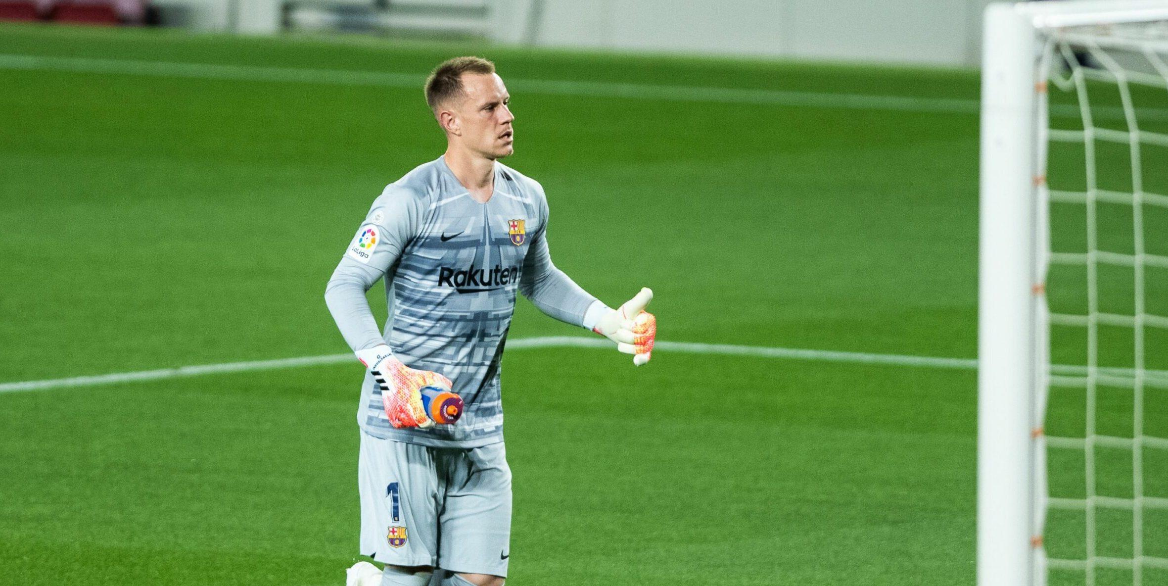 Ter Stegen, porter del Barça |Europa Press
