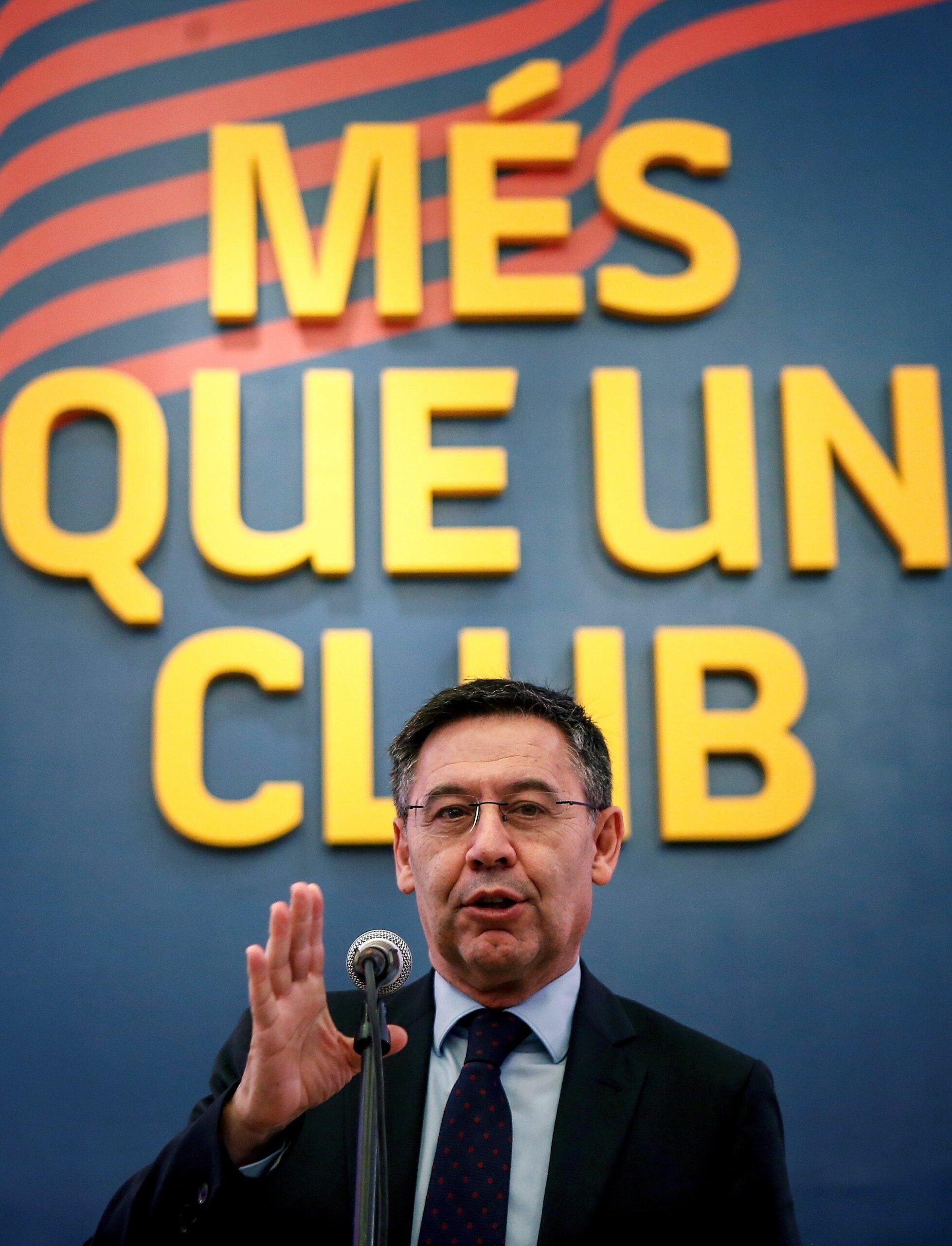 Josep Maria Bartomeu, president del Barça | EFE