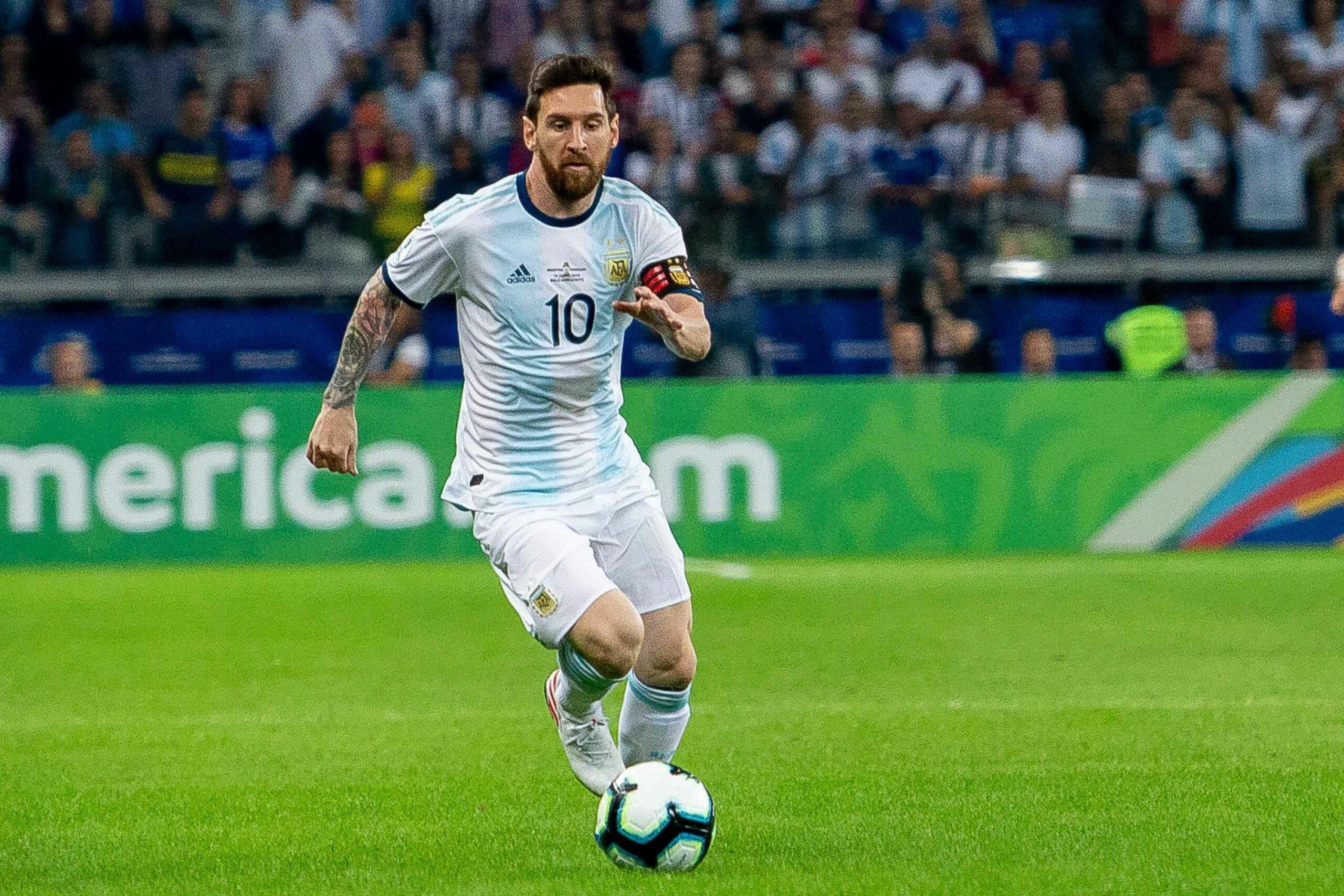 Leo Messi, durant un partit amb la selecció argentina | Europa Press