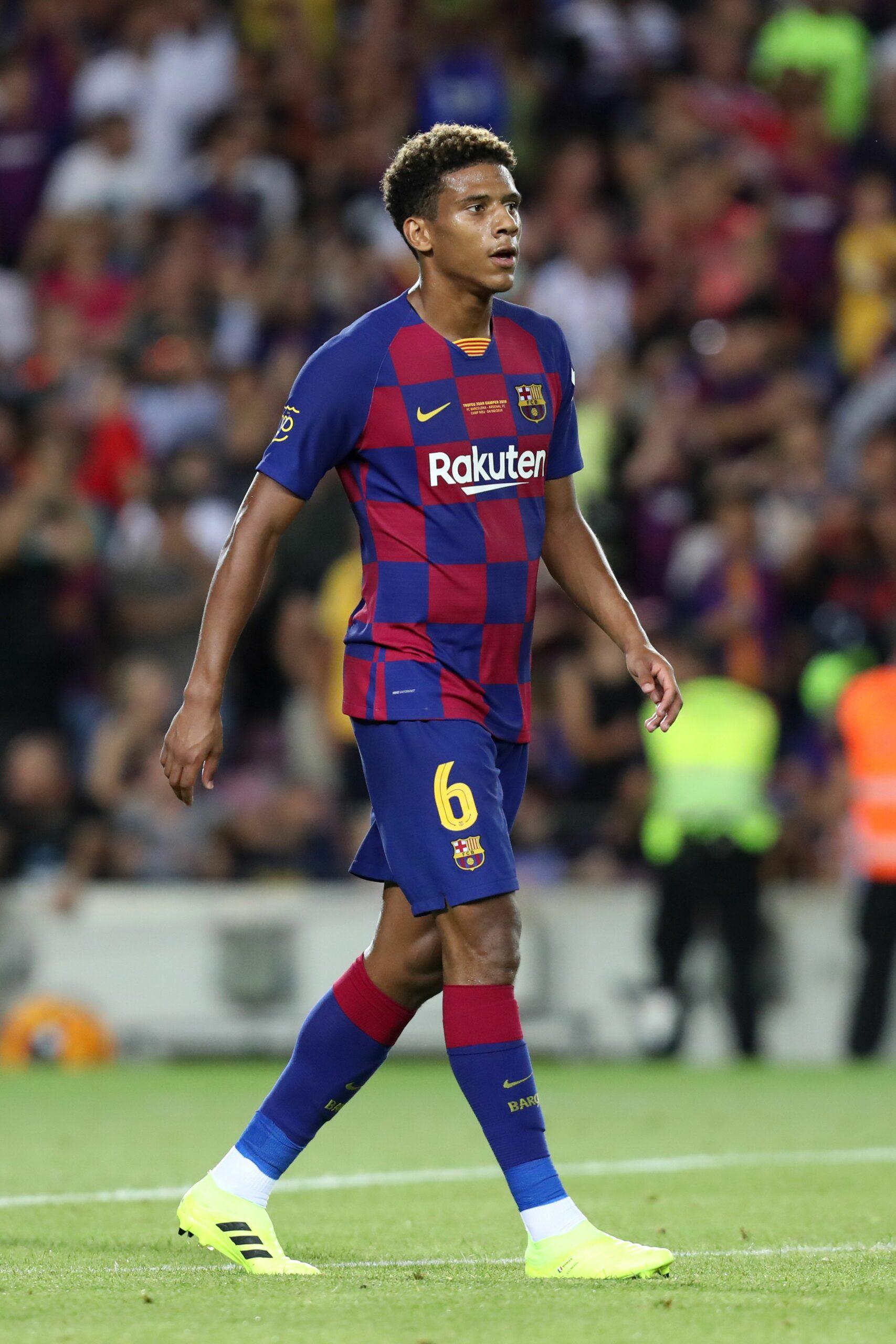 Todibo, en un partit amb el Barça | Europa Press