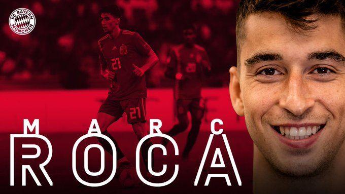 Marc Roca ja és jugador del Bayern de Munic. | Bayern de Munic.