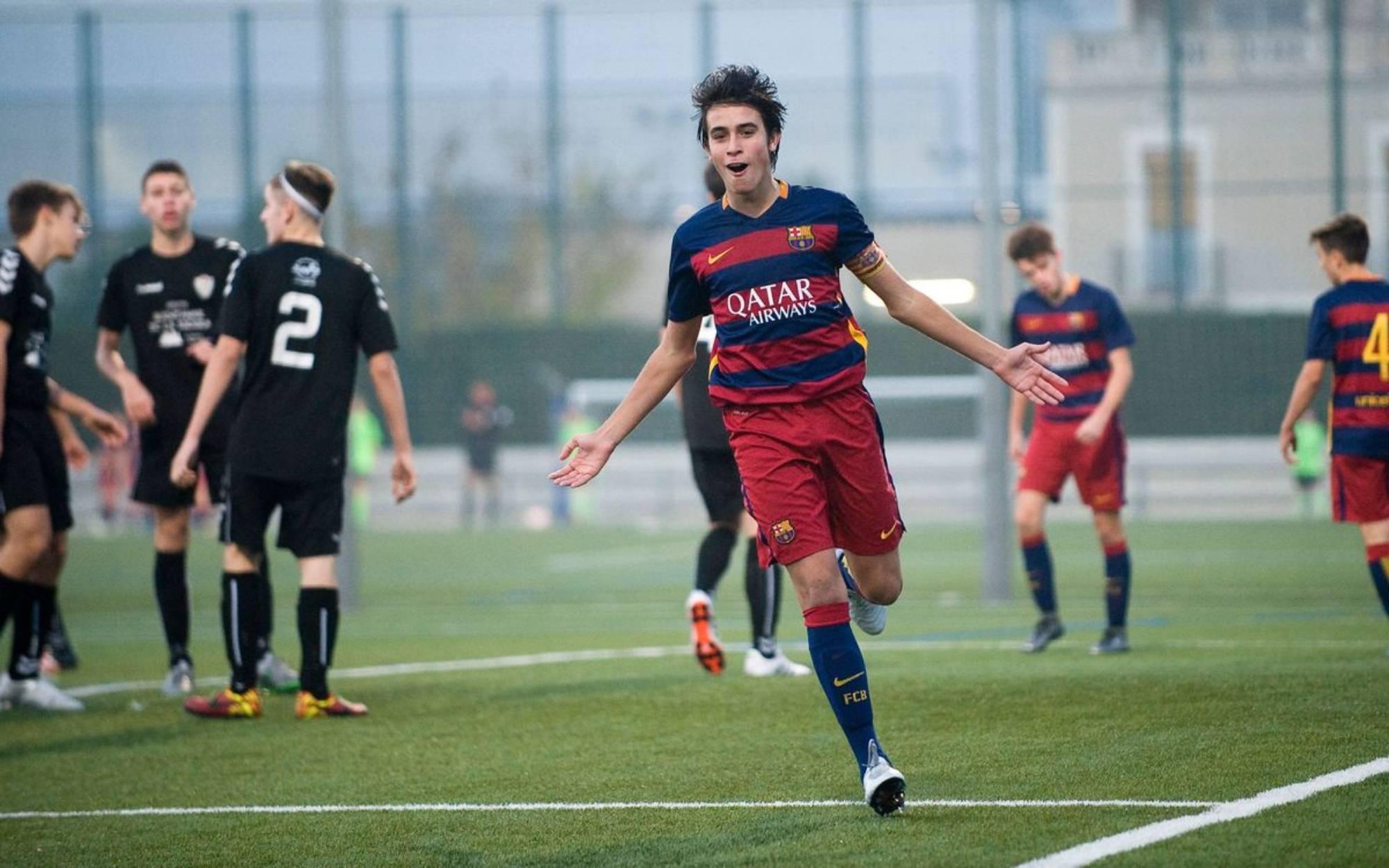 Eric García, durant la seva etapa al Barça   FC Barcelona