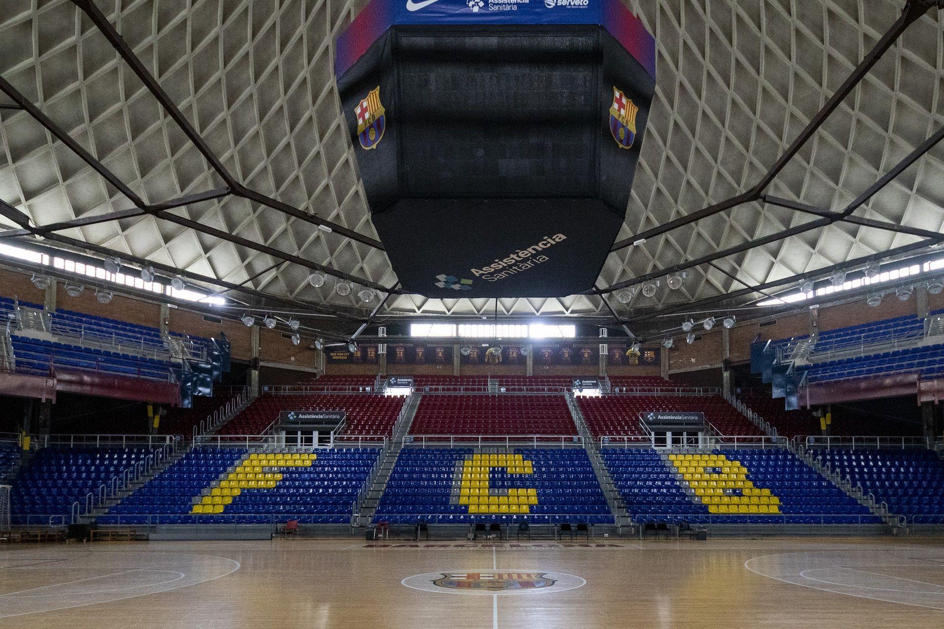 El Palau Blaugrana, en arxiu | FC Barcelona