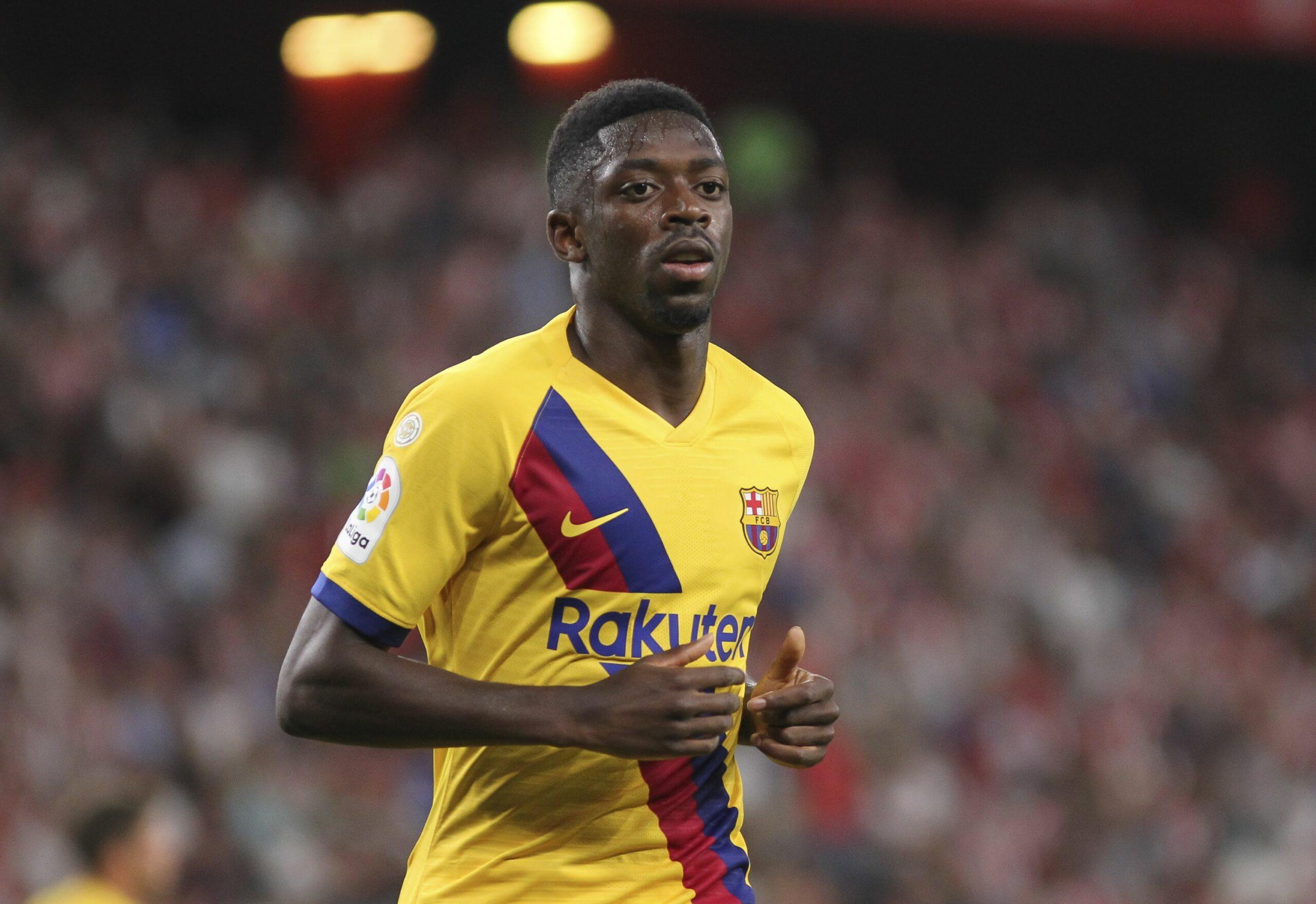 Dembélé, en el partit contra l'Athletic Club   EFE