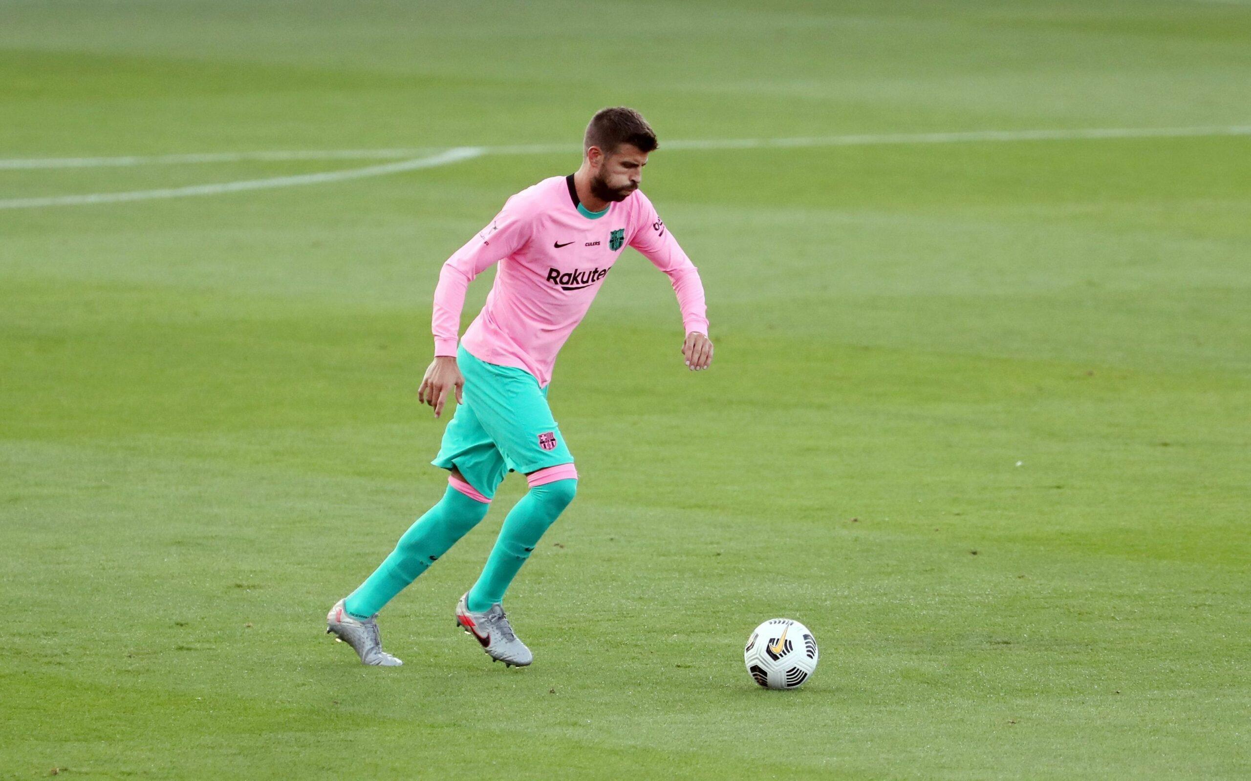 Gerard Piqué, durant un partit | FC Barcelona