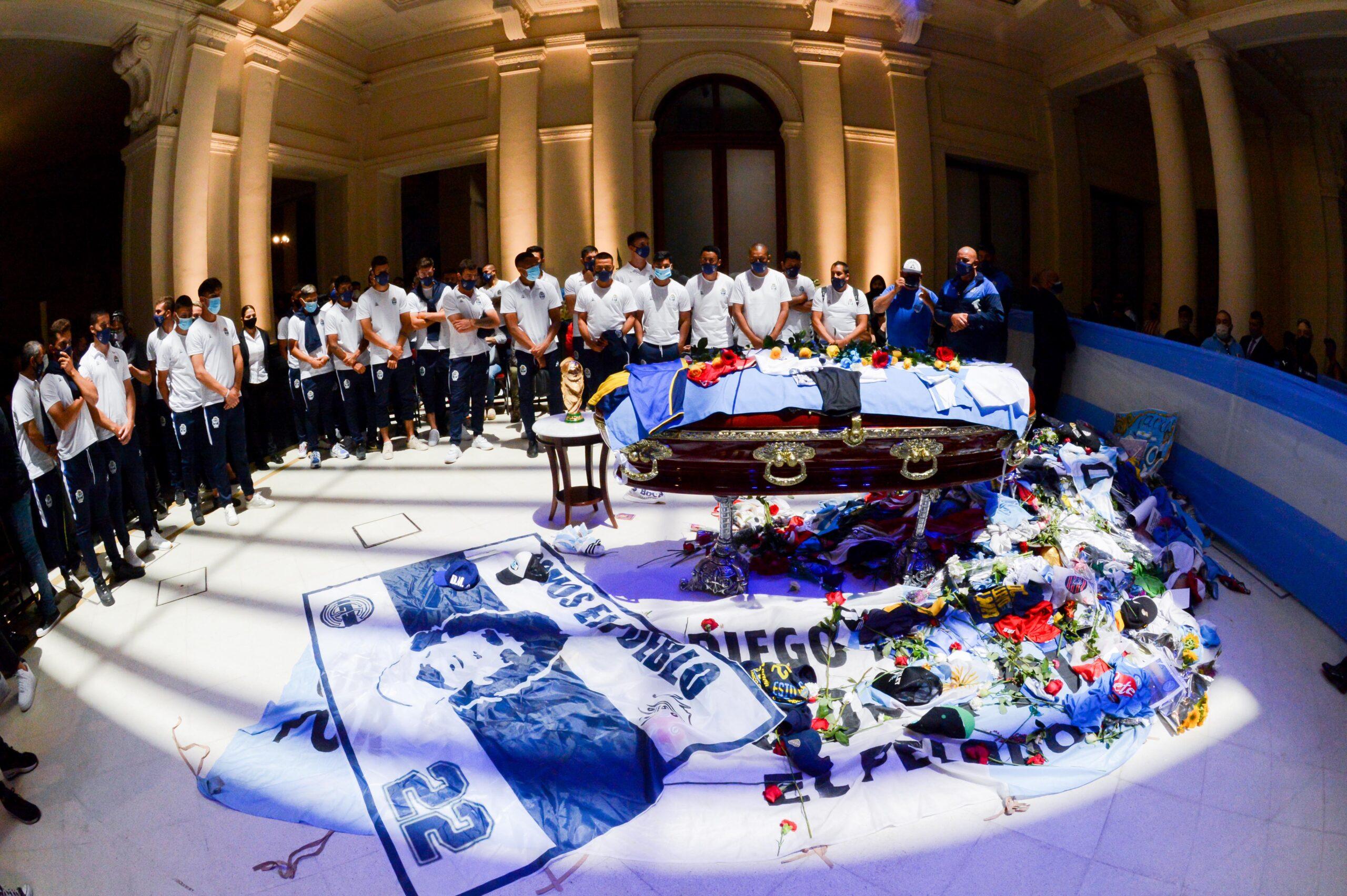Vetlla de Maradona | Europa Press