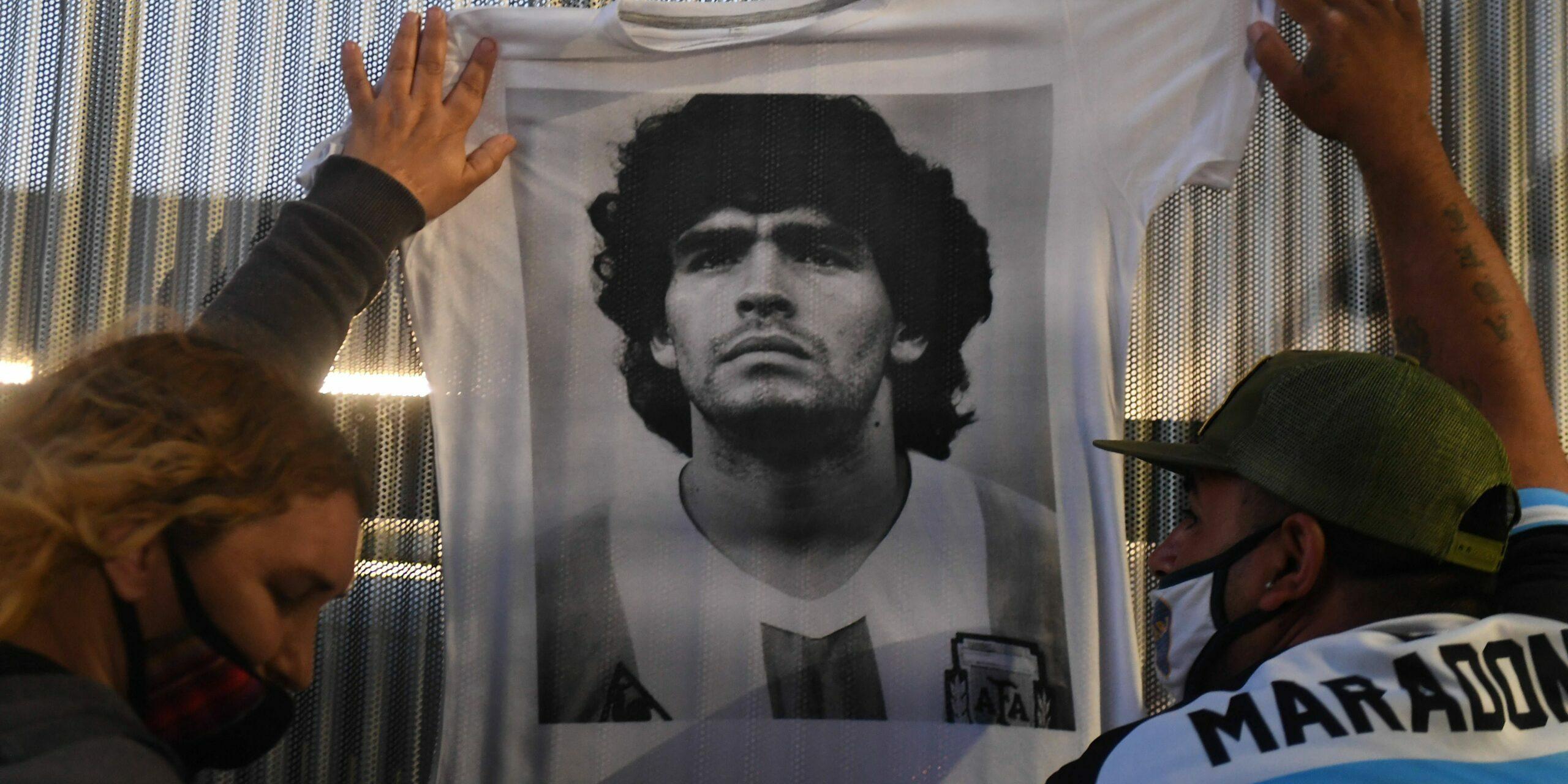 Fans de l'Argentina ploren la mort de Maradona |Europa Press