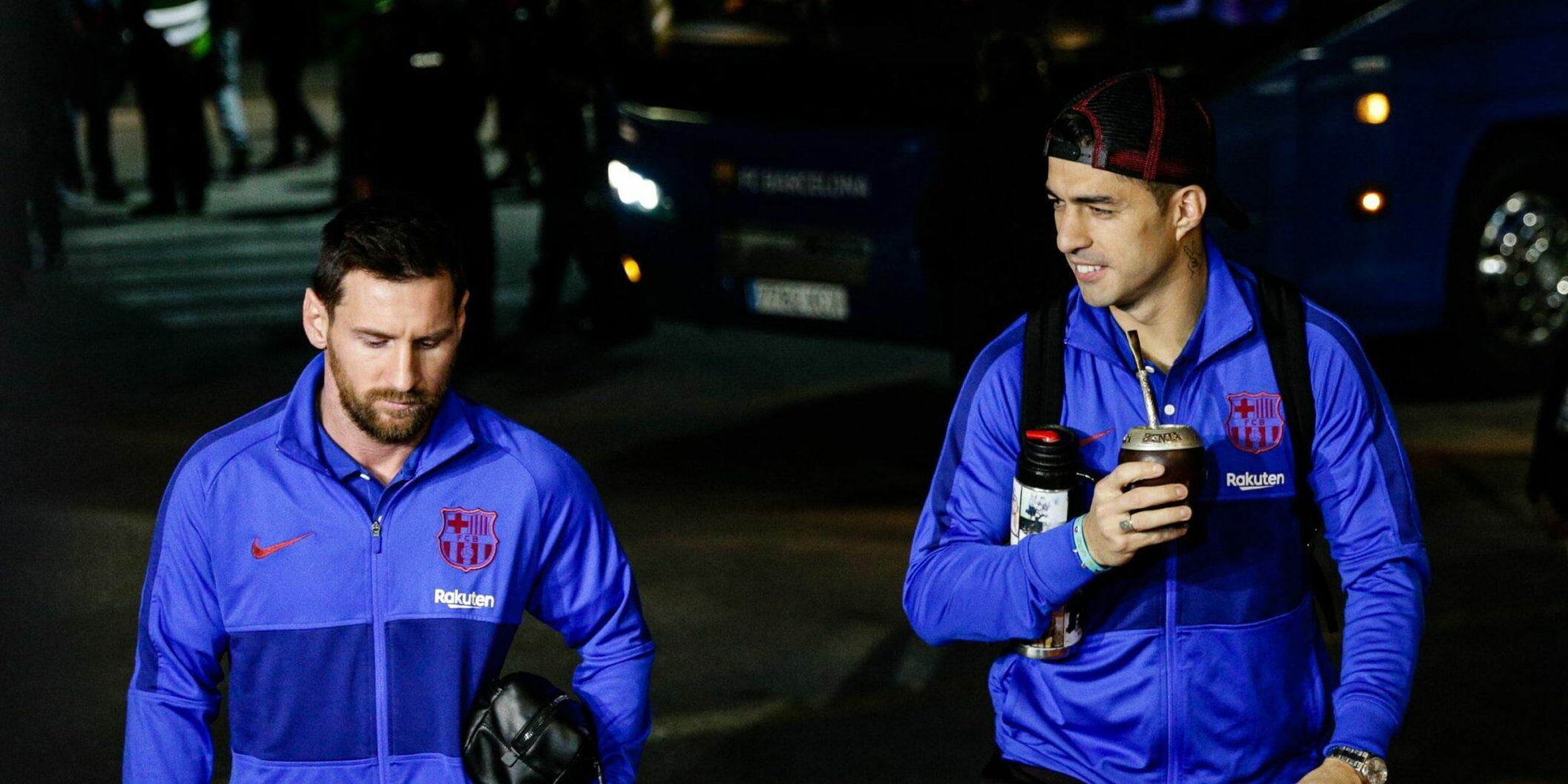 Luis Suárez i Leo Messi, en arxiu | Europa Press