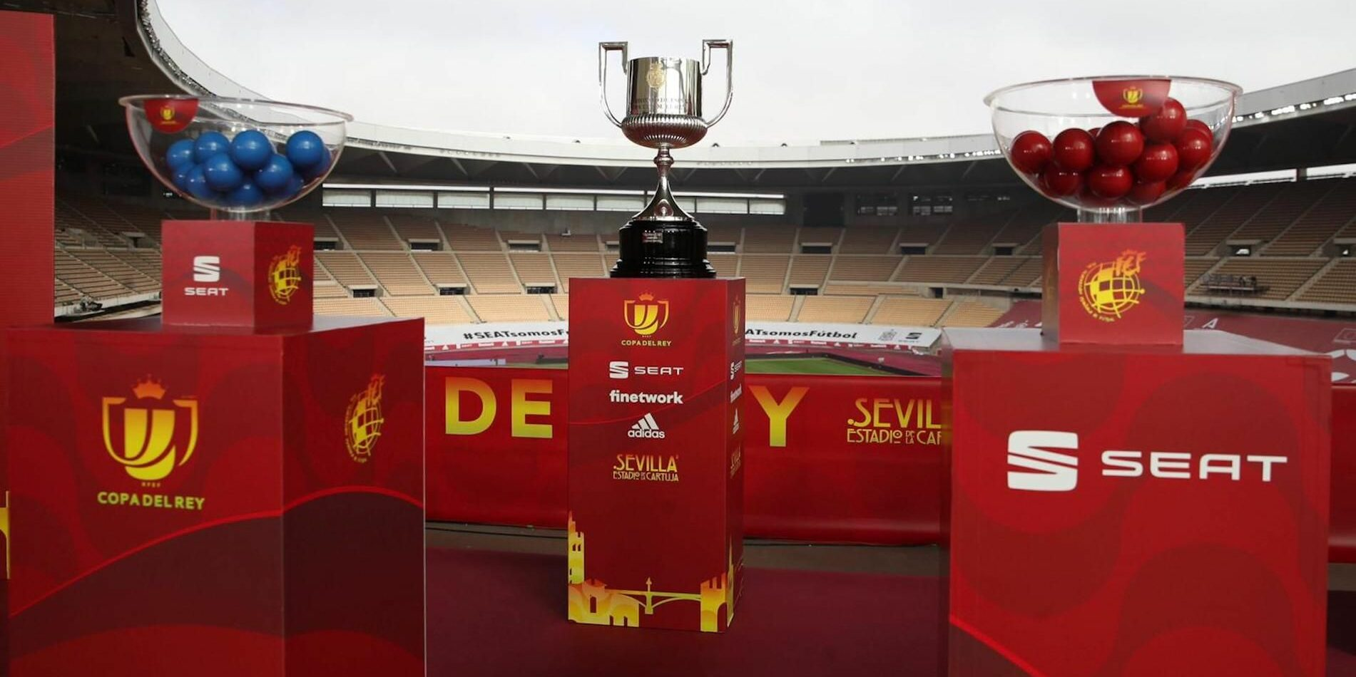 El trofeu de la Copa del Rei, a La Cartuja | RFEF