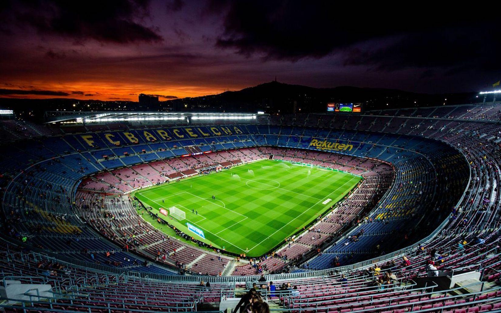El Camp Nou, abans d'un partit | FC Barcelona