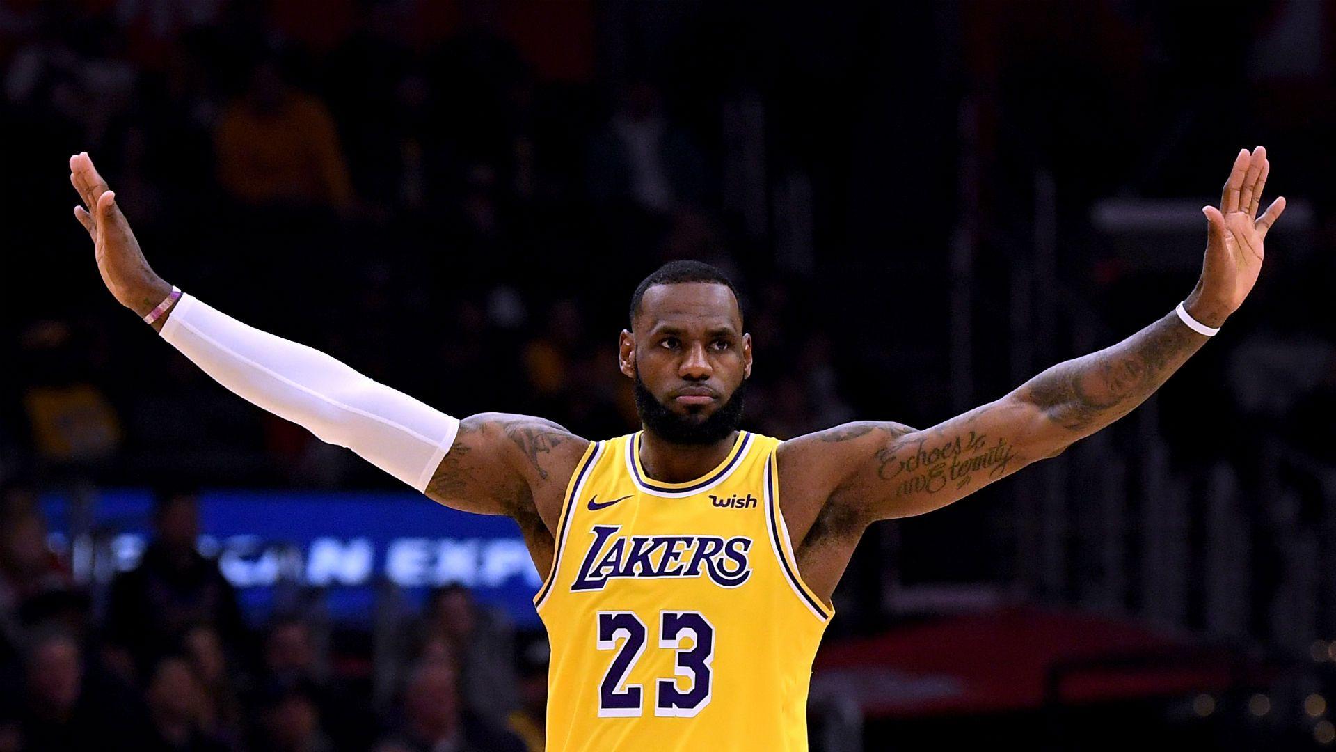 LeBron James, durant un partit dels Lakers | NBA