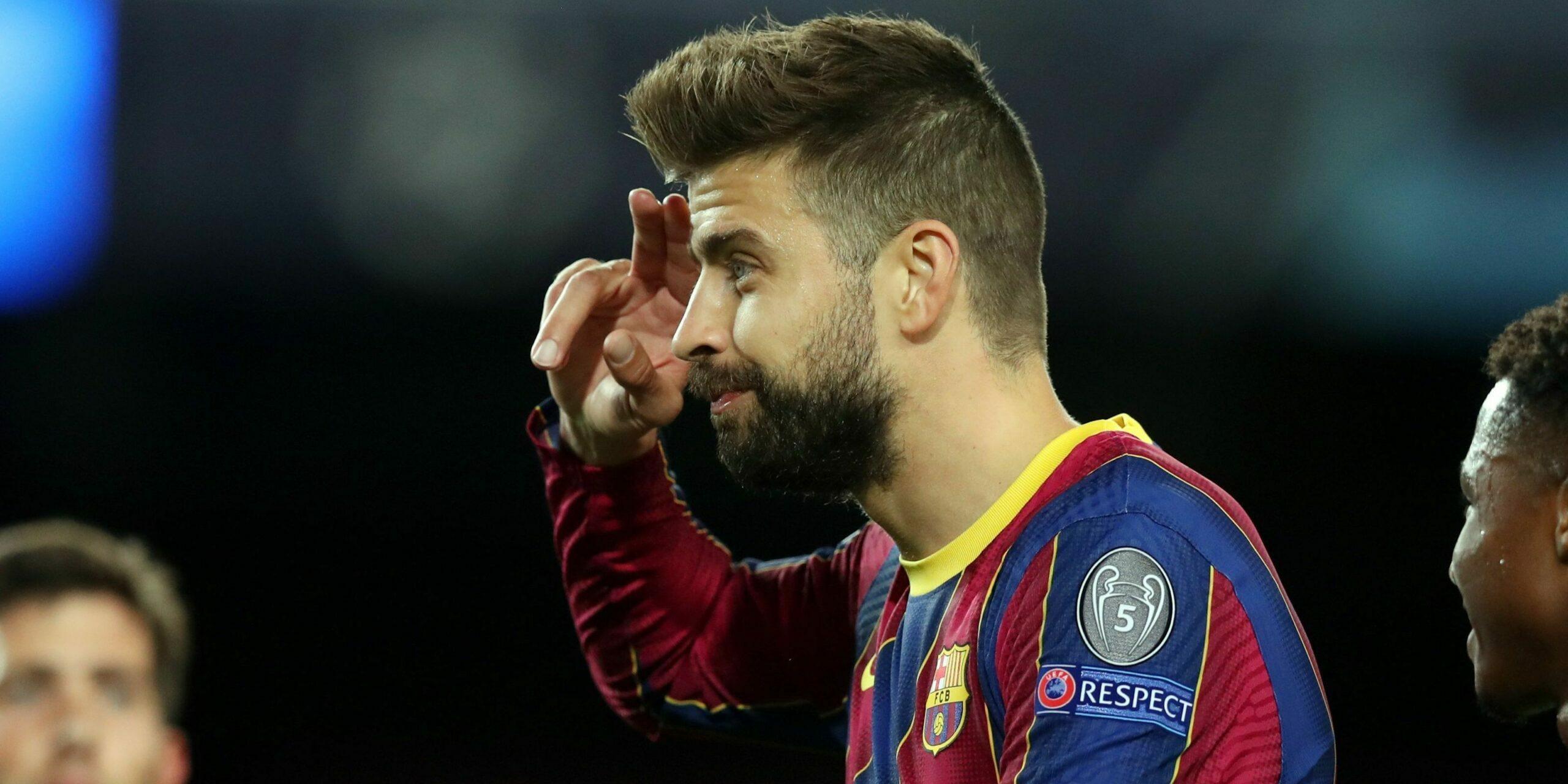 Piqué celebra el seu gol contra el Dinamo de Kíev | FC Barcelona