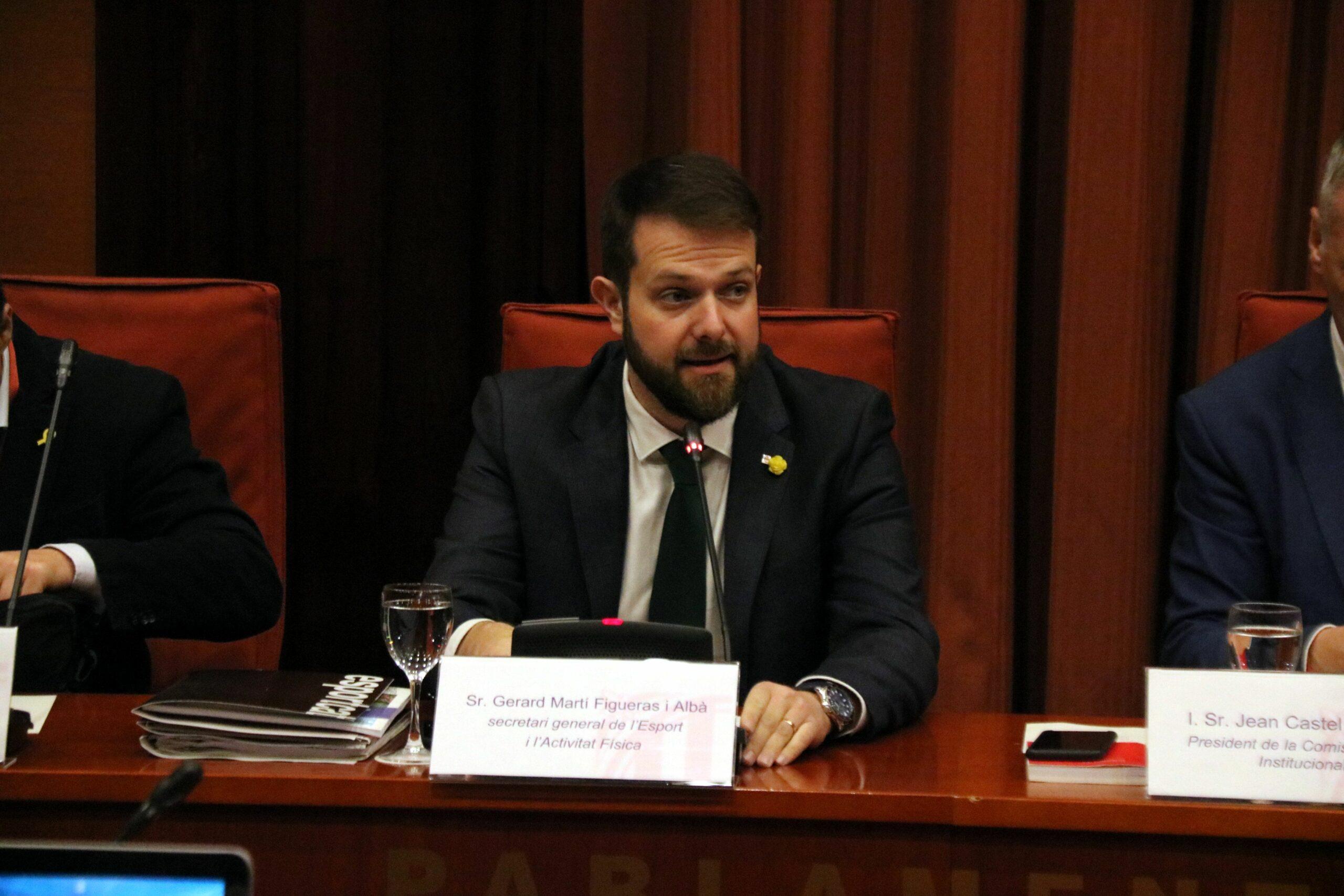 Gerard Figueras, secretari general de l'Esport | ACN