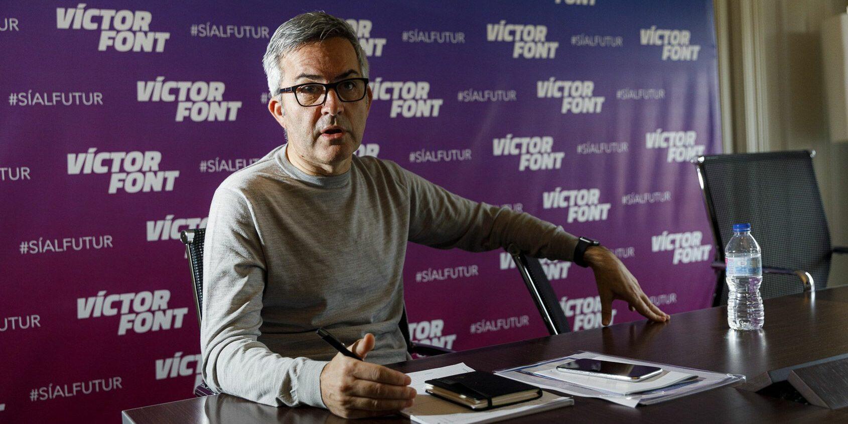 Víctor Font, aspirant a la presidència del Barça |Jordi Borràs