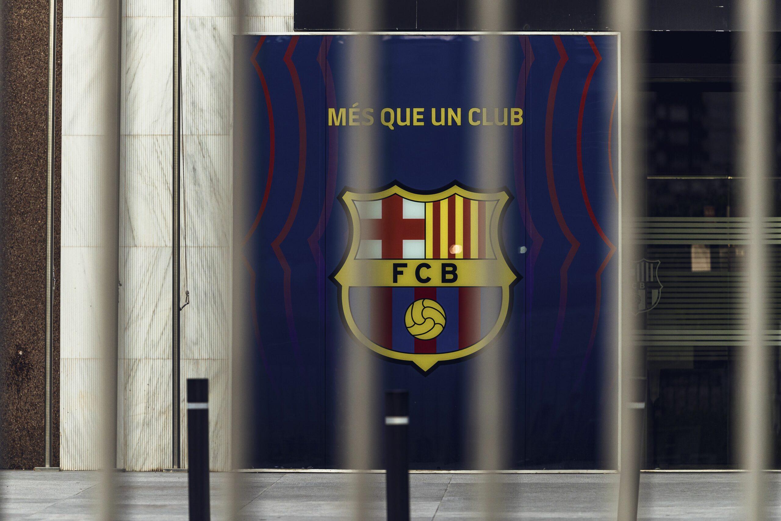 L'escut del Barça, en arxiu |Europa Press