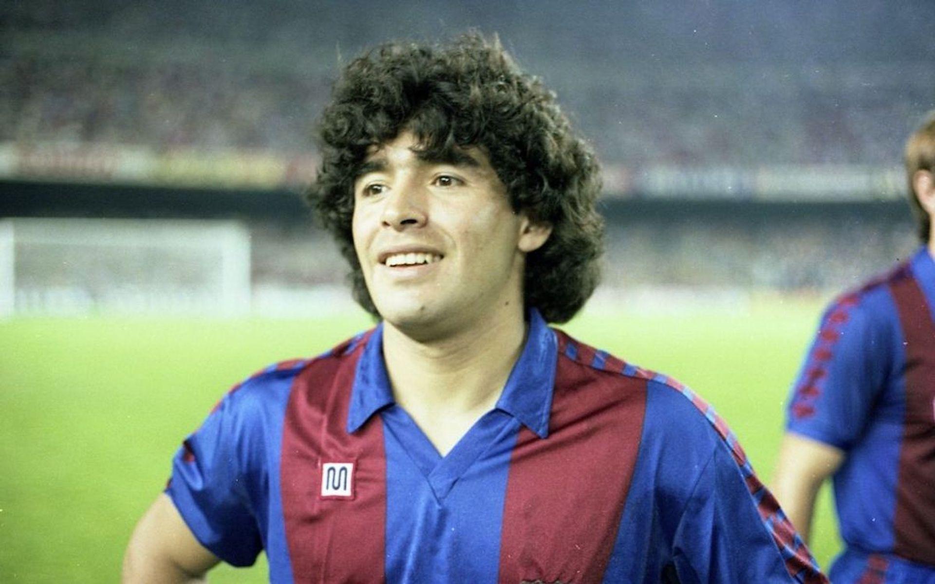 Maradona, durant la seva etapa al Barça | FC Barcelona