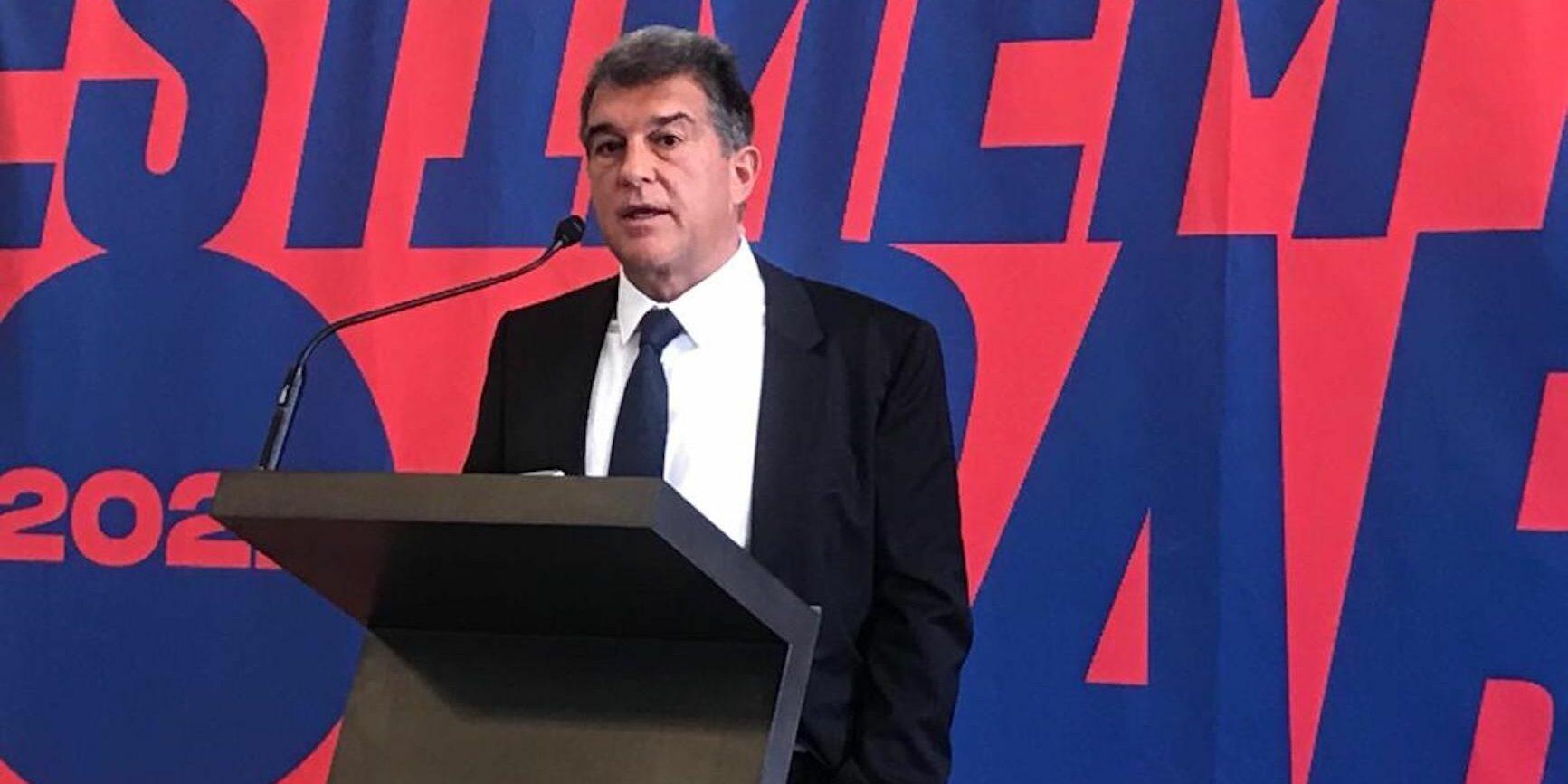 Joan Laporta, precandidat a les eleccions del Barça | Salvador Cot