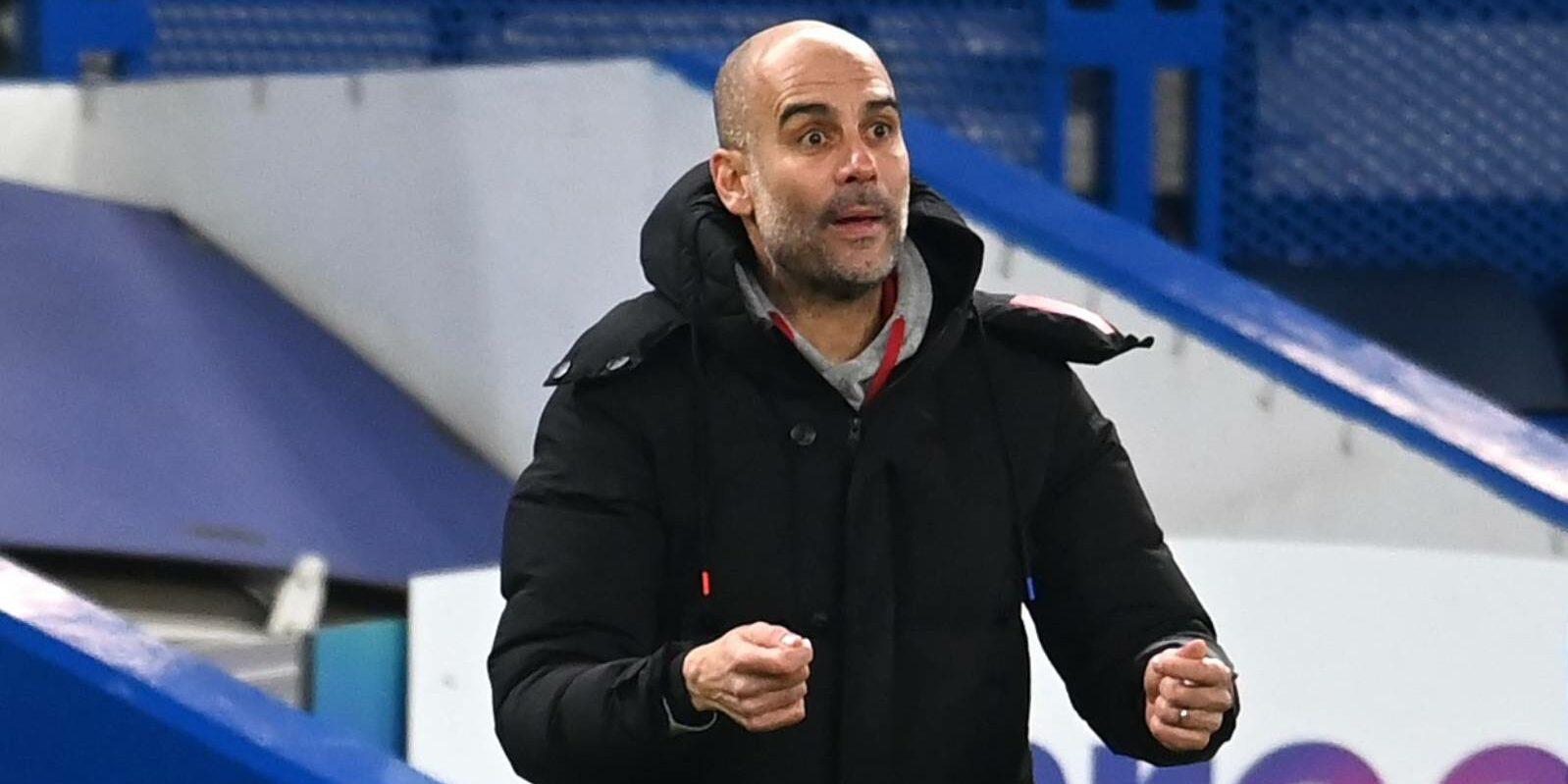 Pep Guardiola, entrenador del Manchester City | Europa Press
