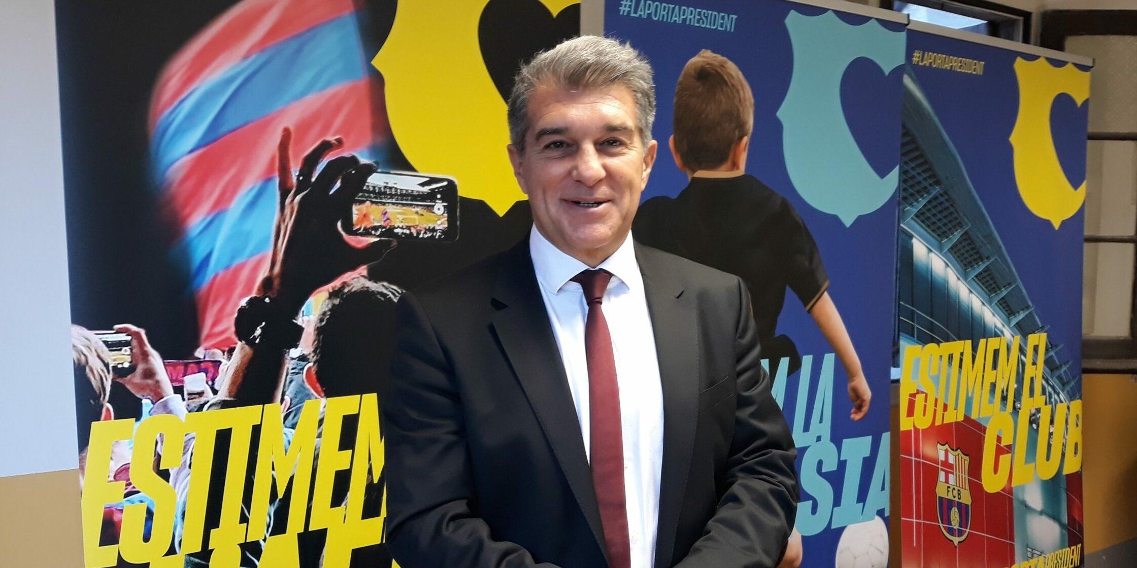 Joan Laporta, aspirant a la presidència de Barça | Europa Press