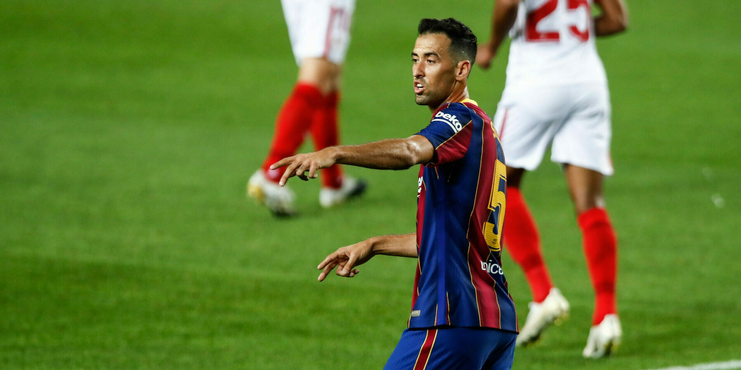 Sergio Busquets, jugador del Barça | Europa Press