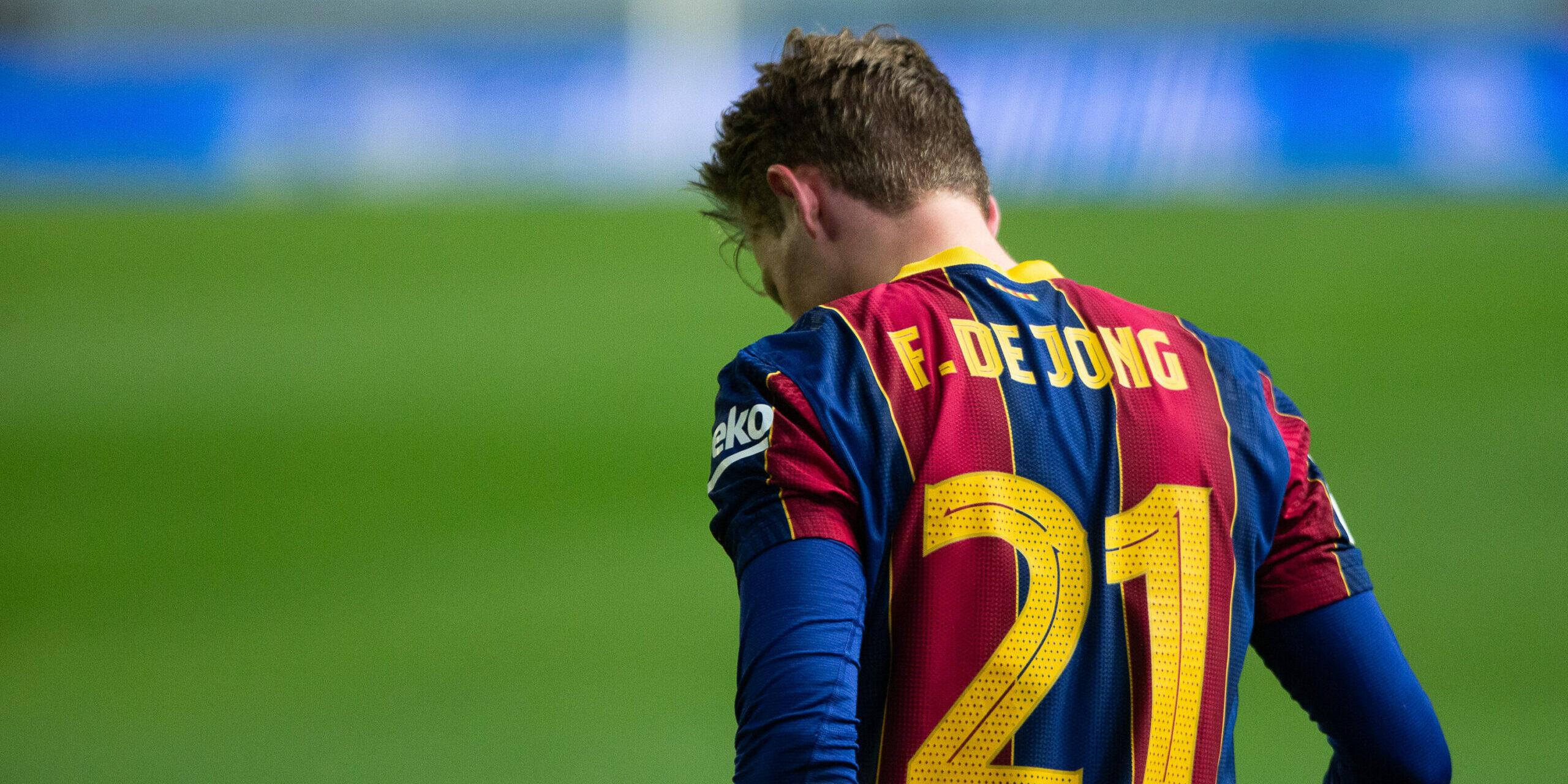 Frenkie de Jong, durant la Supercopa d'Espanya | Europa Press