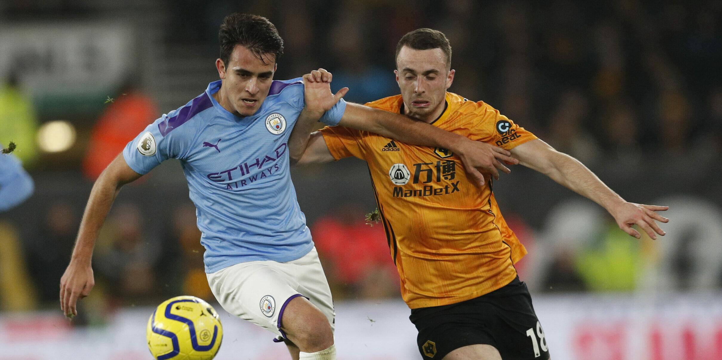 Eric Garcia, durant un partit del Manchester City |Europa Press