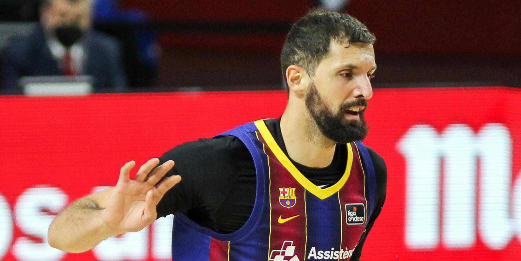 Mirotic, jugador del Barça | Europa Press
