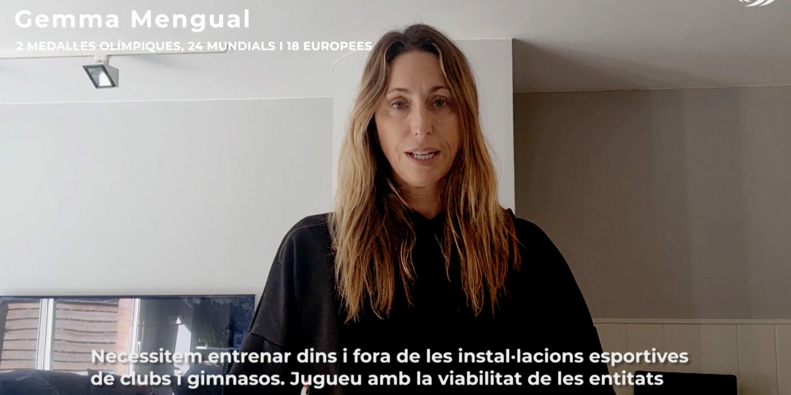 Gemma Mengual demana el retorn de les competicions | UFEC