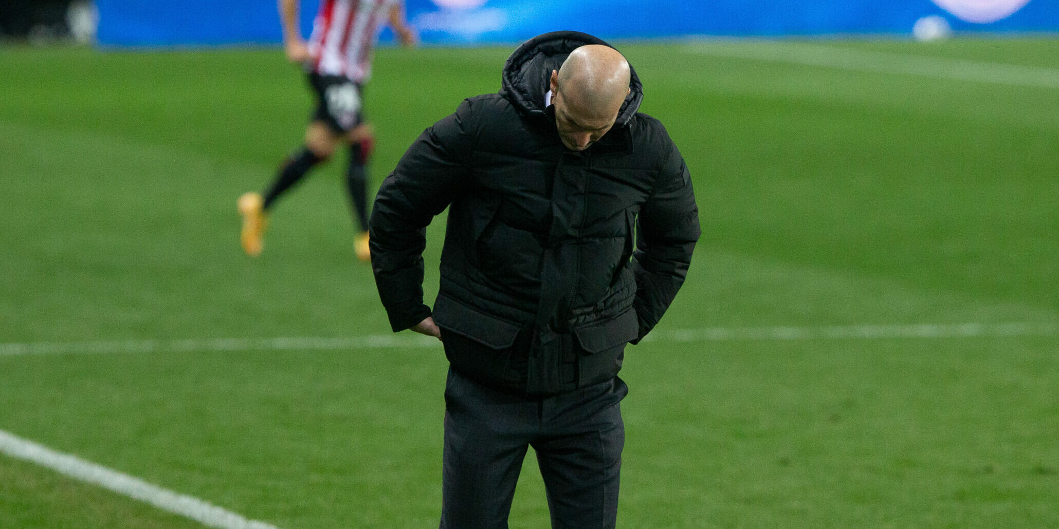 Zidane, durant un partit del Madrid | Europa Press