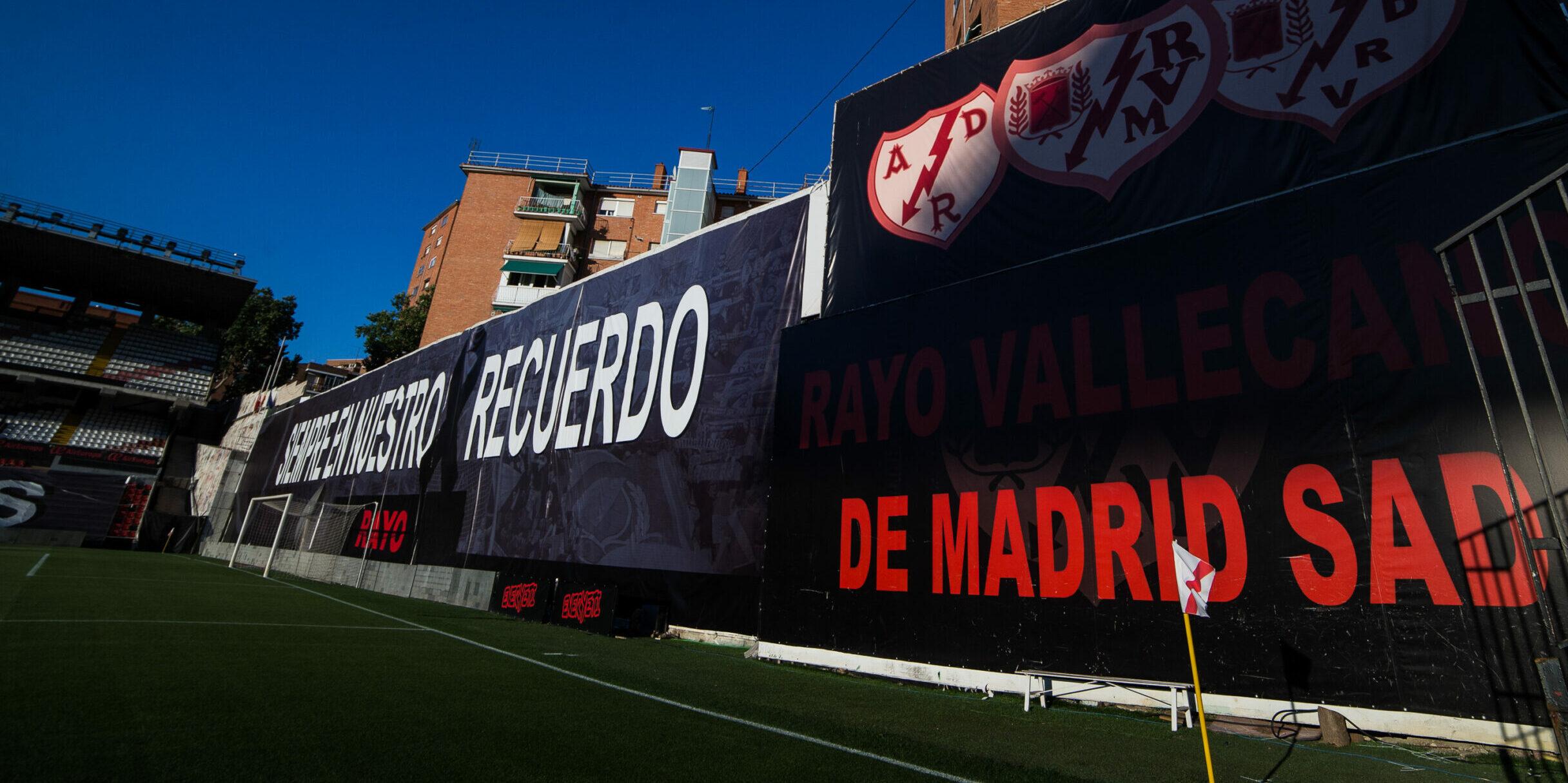L'estadi de Vallecas, durant un partit |Europa Press